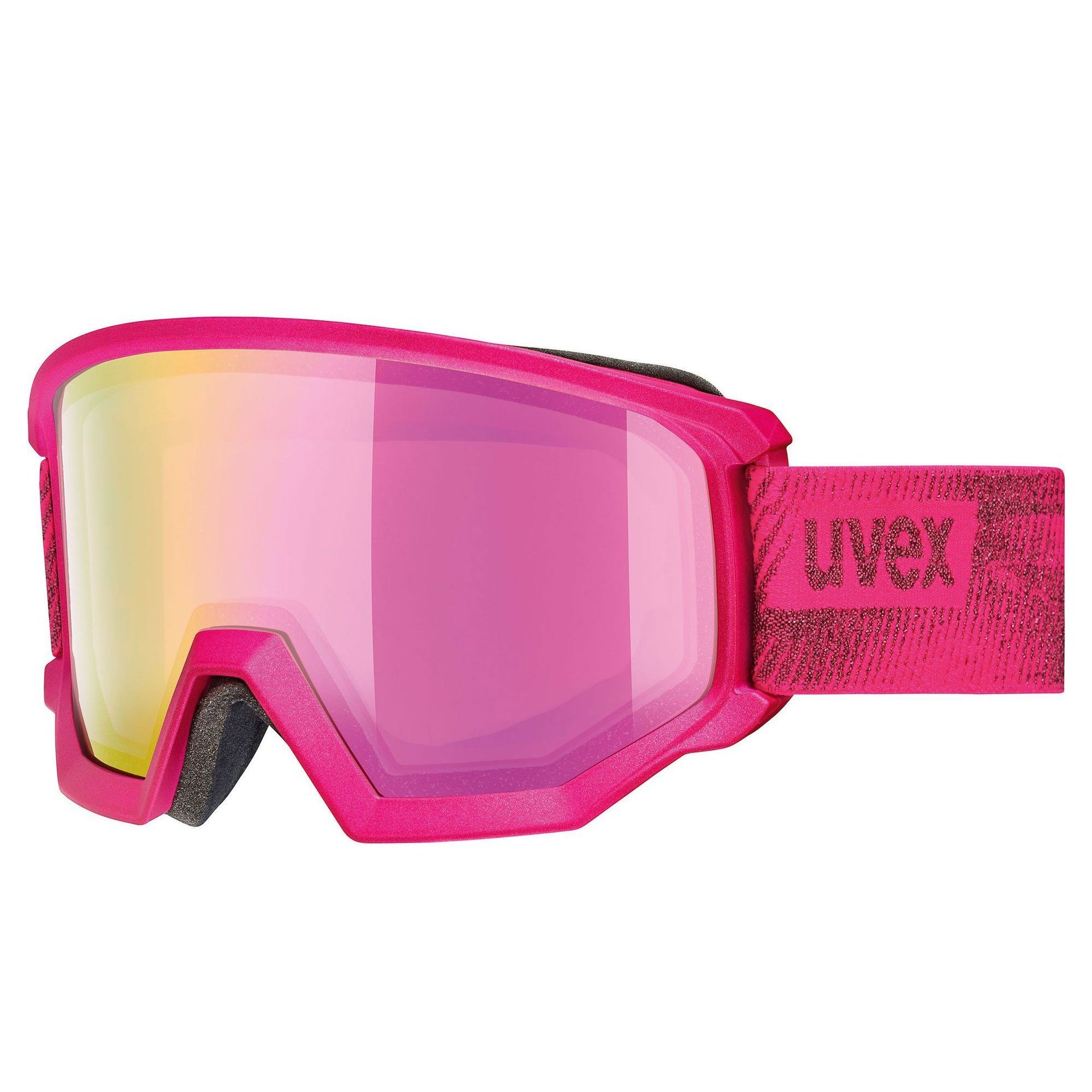 GOGLE UVEX ATHLETIC FM PINK MAT|MIRROR PINK 55|0|520|9030