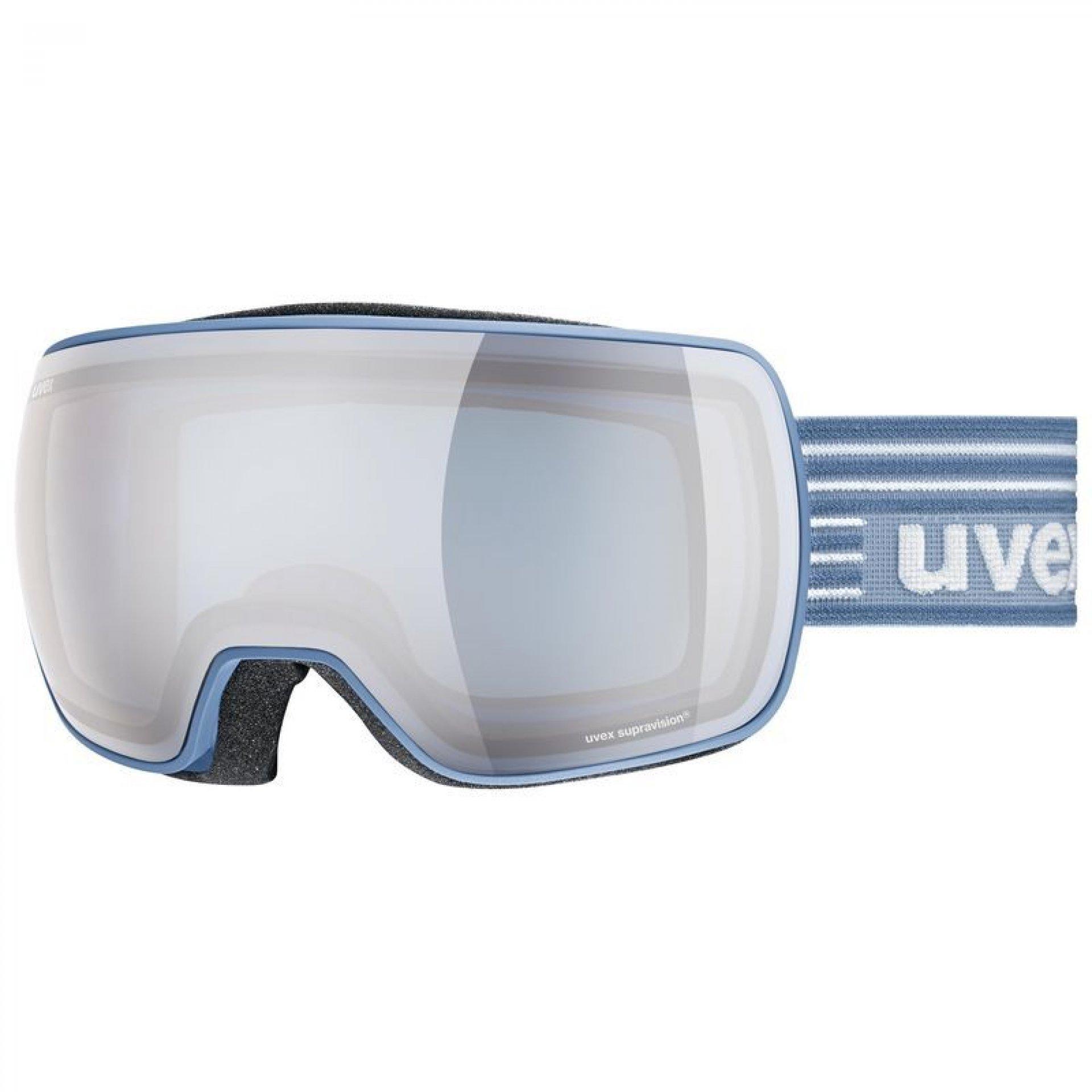 GOGLE UVEX COMPACT FM LAGUNE MAT|MIRROR SILVER BLUE 55|0|130|4130