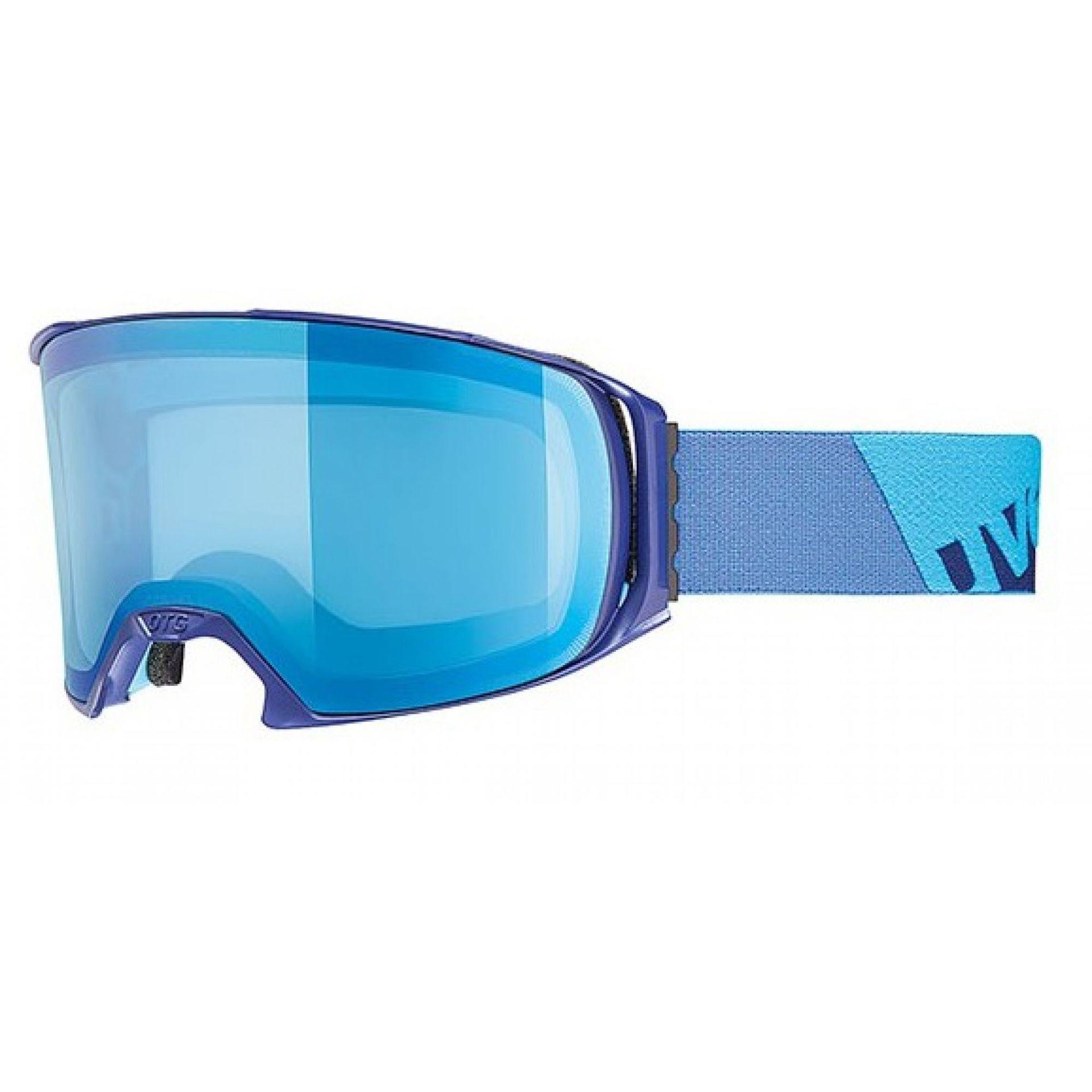 GOGLE UVEX CRAXX OTG LTM 2016 INDIGO MAT LITEMIRROR BLUE (S1)