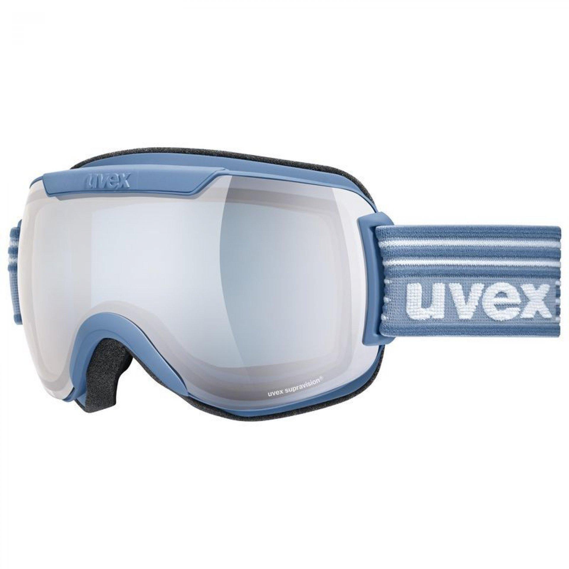 GOGLE UVEX DOWNHILL 2000 FM LAGUNE MAT MIRROR SILVER BLUE 55 0 1154030