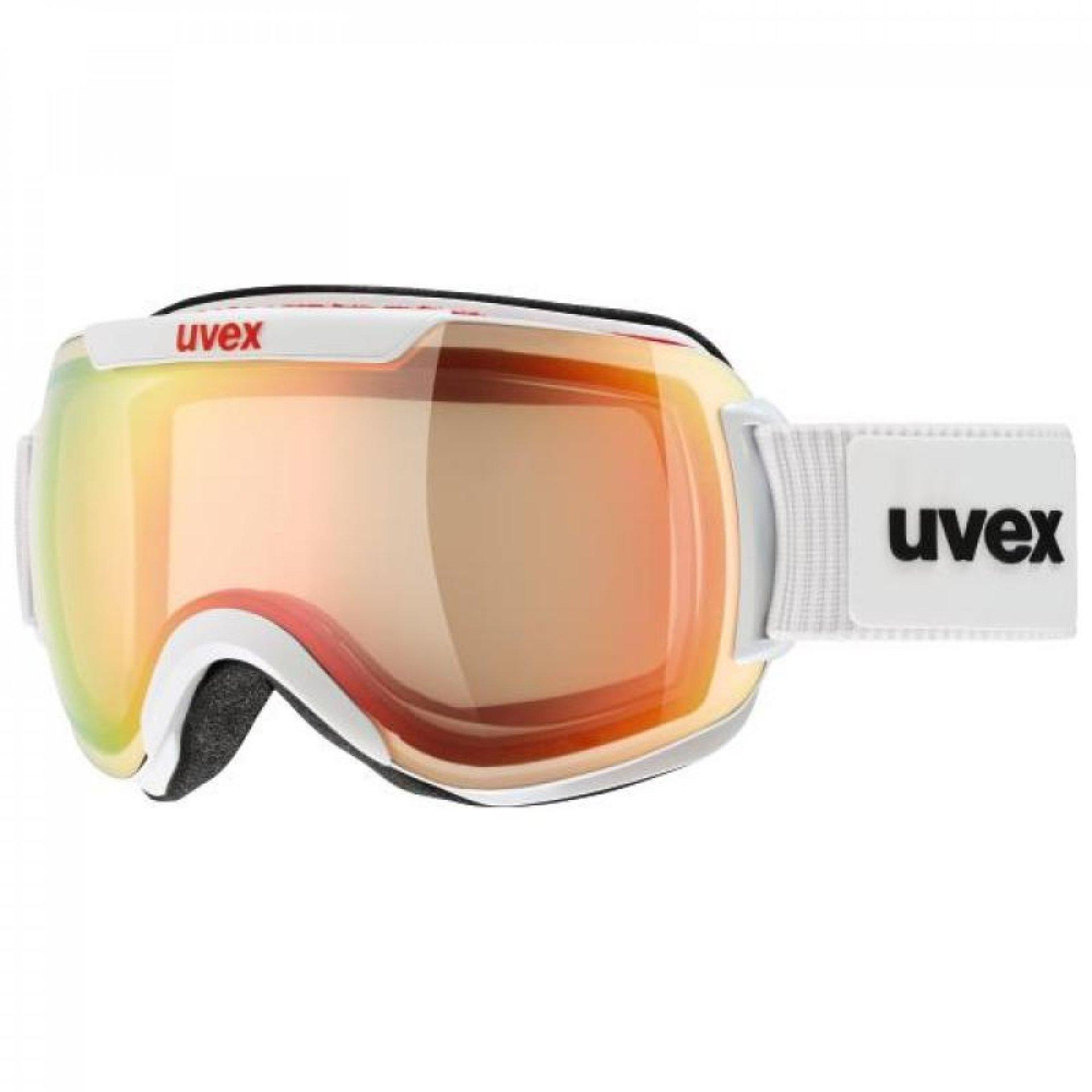 GOGLE UVEX DOWNHILL 2000 VFM  WHITE