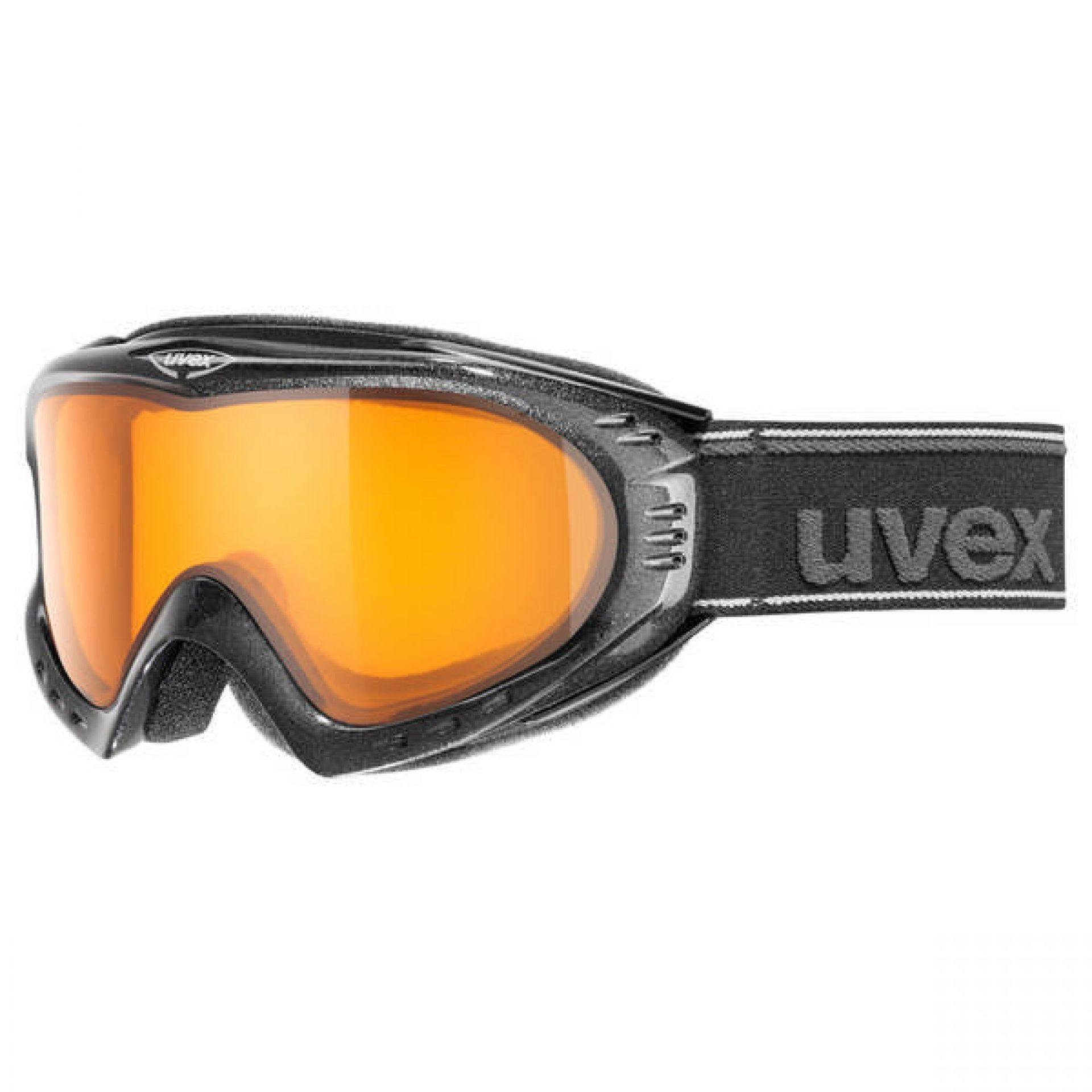 GOGLE UVEX F2 LGL BLACK METALIC LASERGOLD LITE CLEAR S1