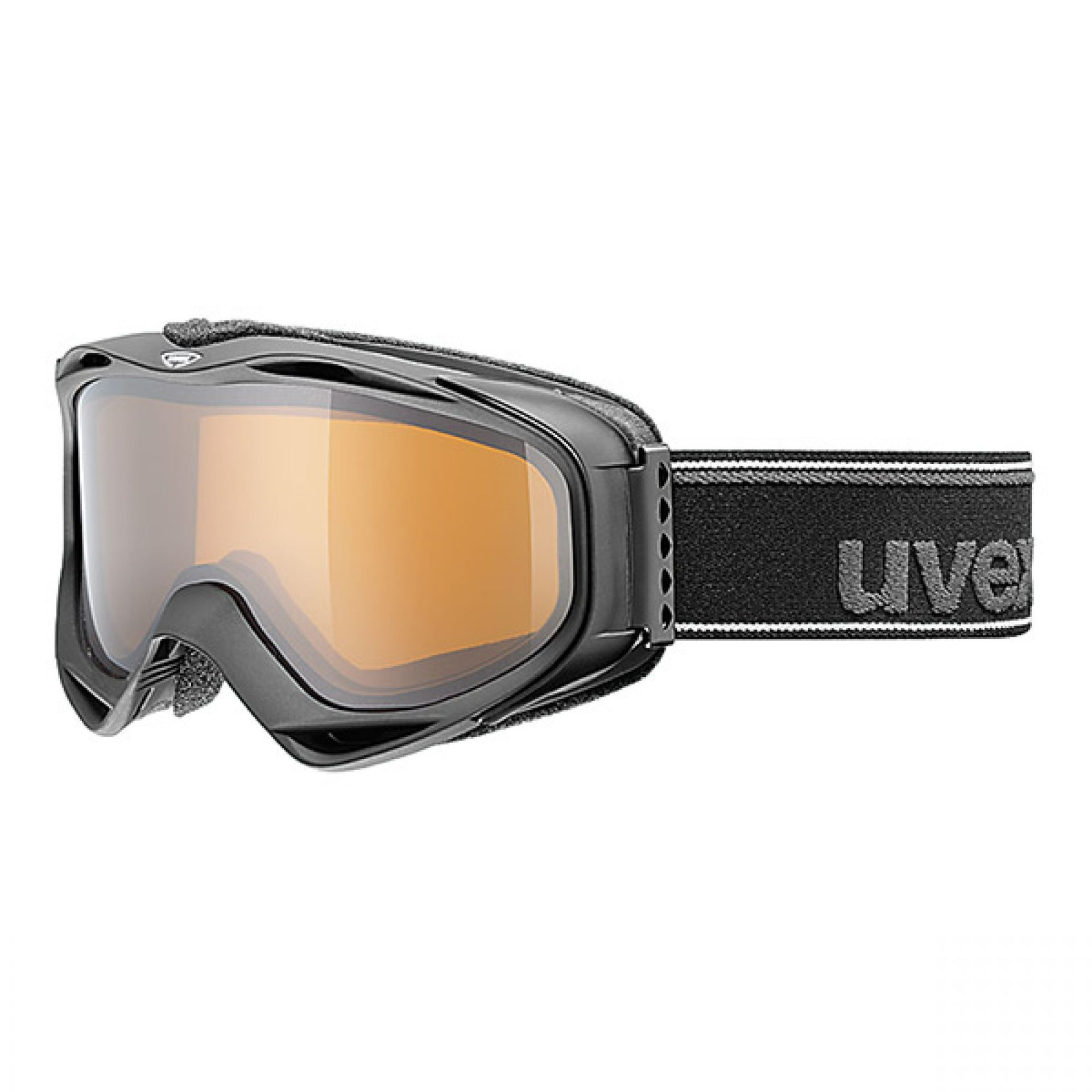 GOGLE UVEX G.GL 300 POLA BLACK MAT POLAVISION CLEAR S2