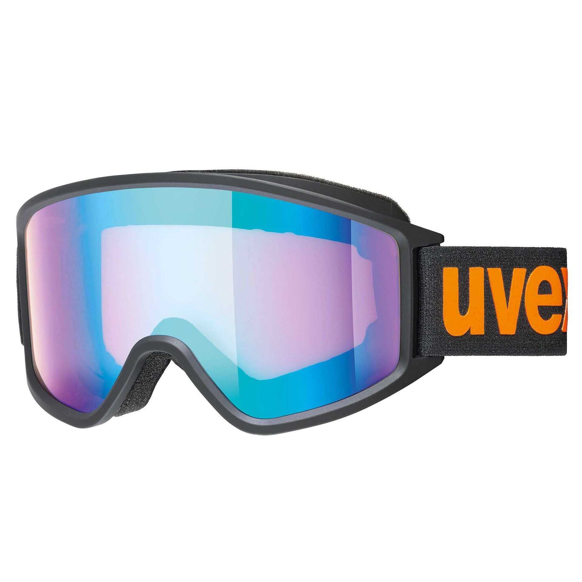 GOGLE UVEX G.GL 3000 CV BLACK ORANGE MAT MIRROR BLUE COLORVISION ORANGE 55 1 333 2130