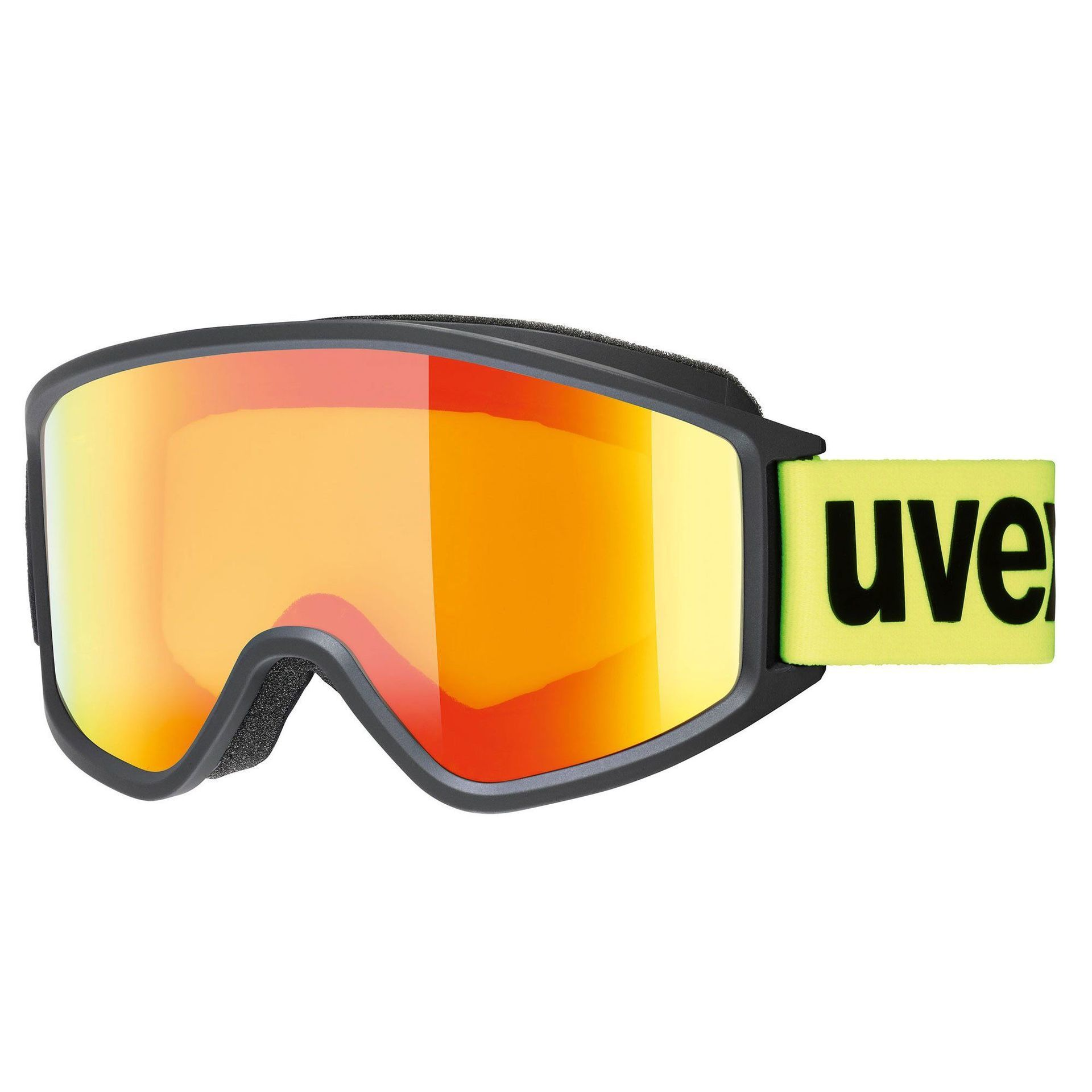 GOGLE UVEX G.GL 3000 CV YELLOW LIME MAT MIRROR ORANGE COLORVISION YELLOW 55 1 333 2230