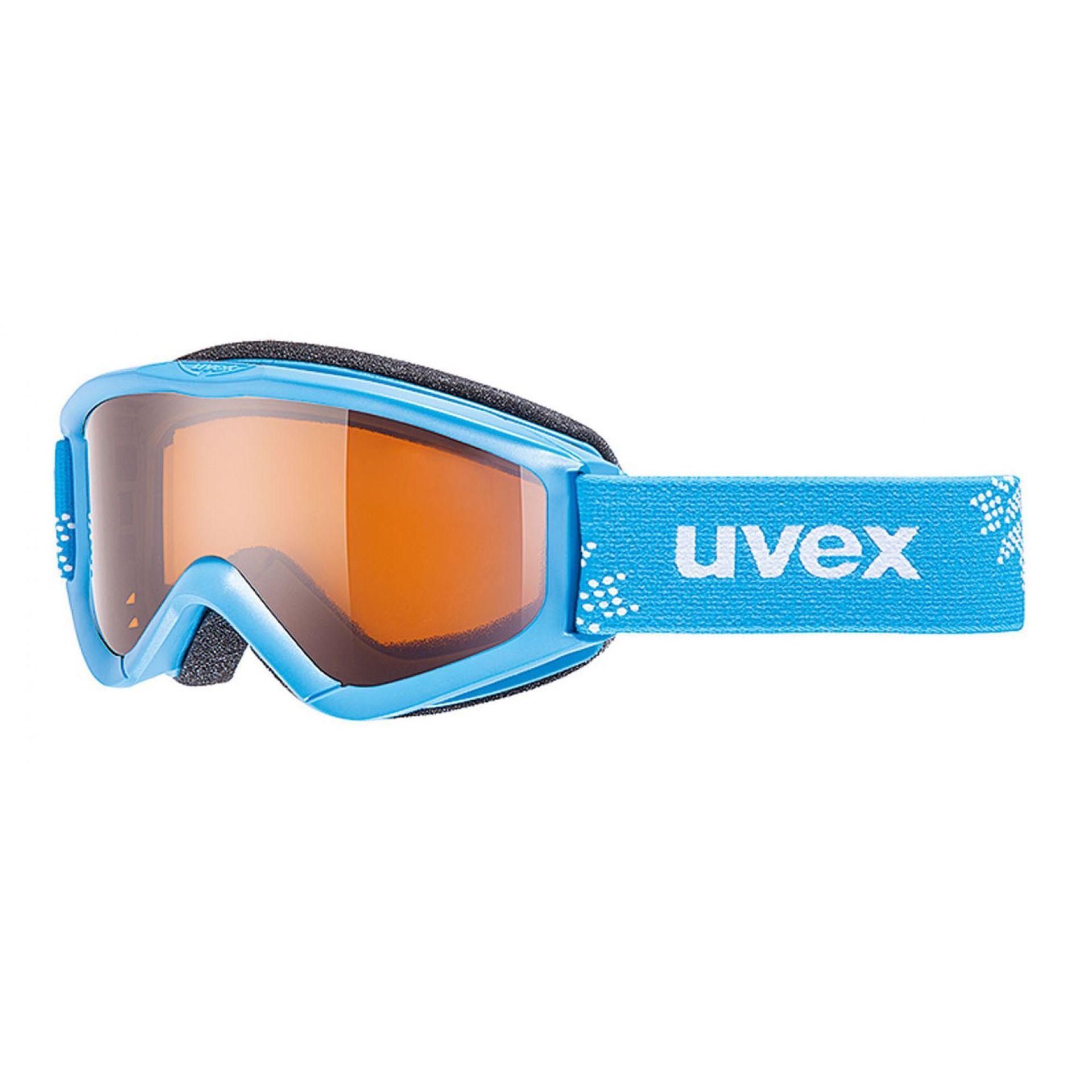 GOGLE UVEX SPEEDY PRO BLUE SNOWFLAKE|LASERGOLD S2