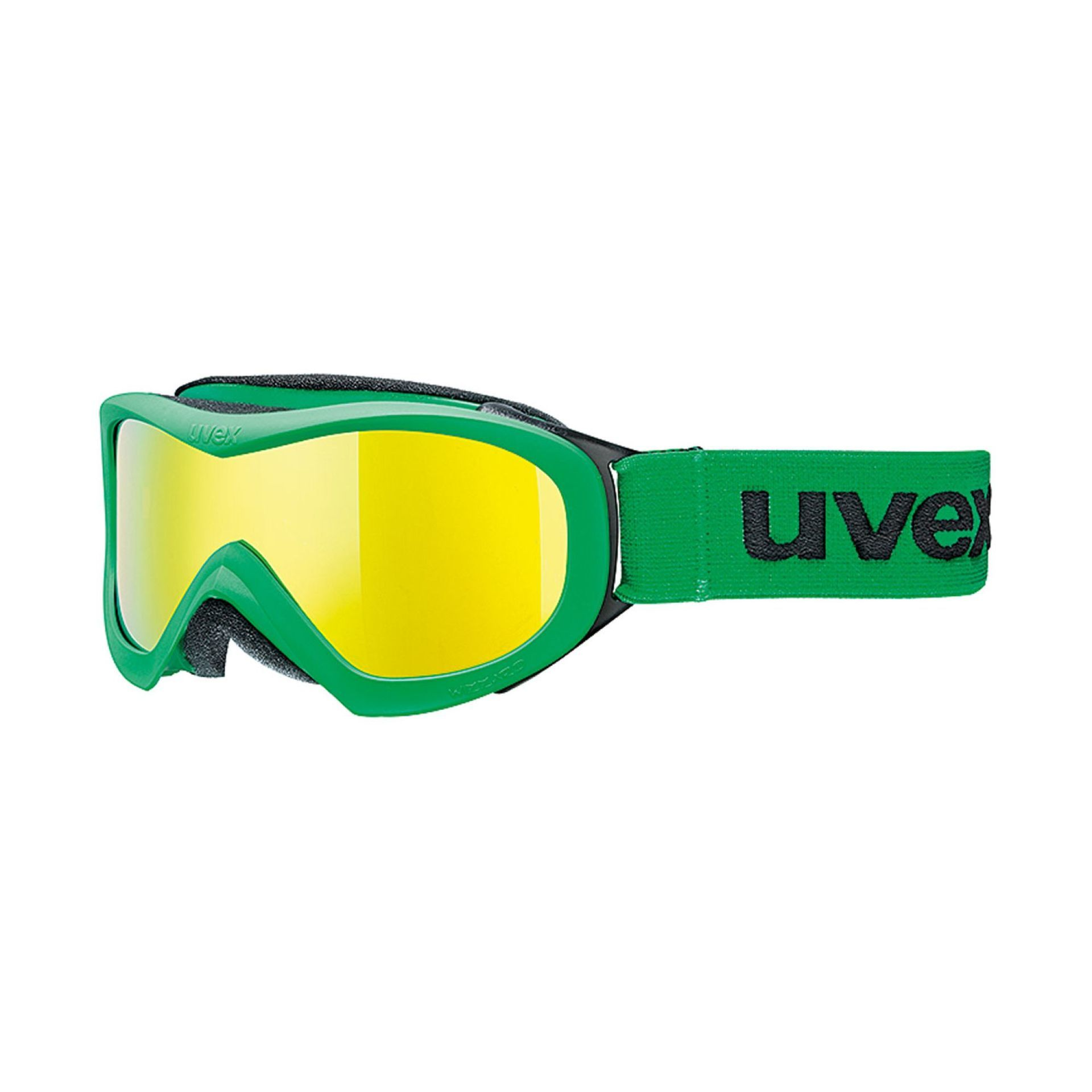 GOGLE UVEX WIZZARD DL MIRROR GREEN