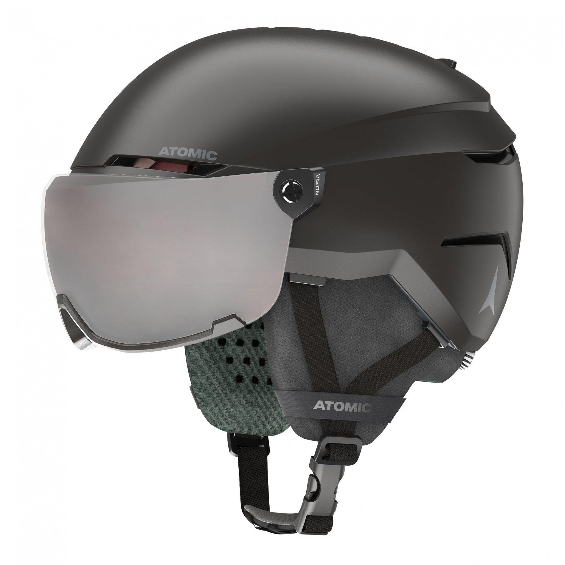 KASK ATOMIC SAVOR VISOR JR BLACK AN5005888