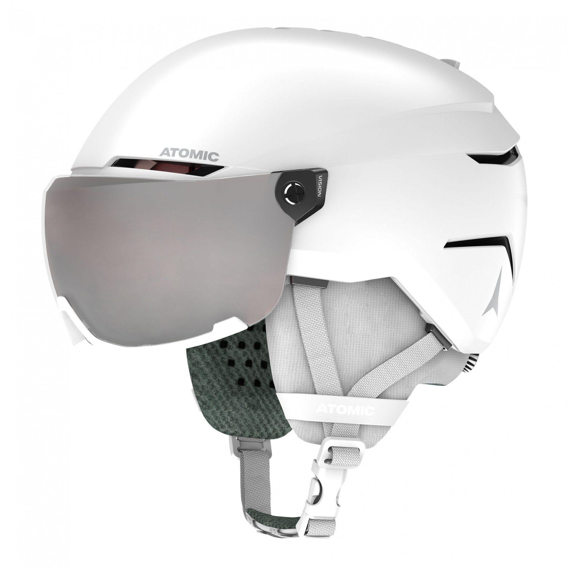 KASK ATOMIC SAVOR VISOR JR WHITE AN5005890
