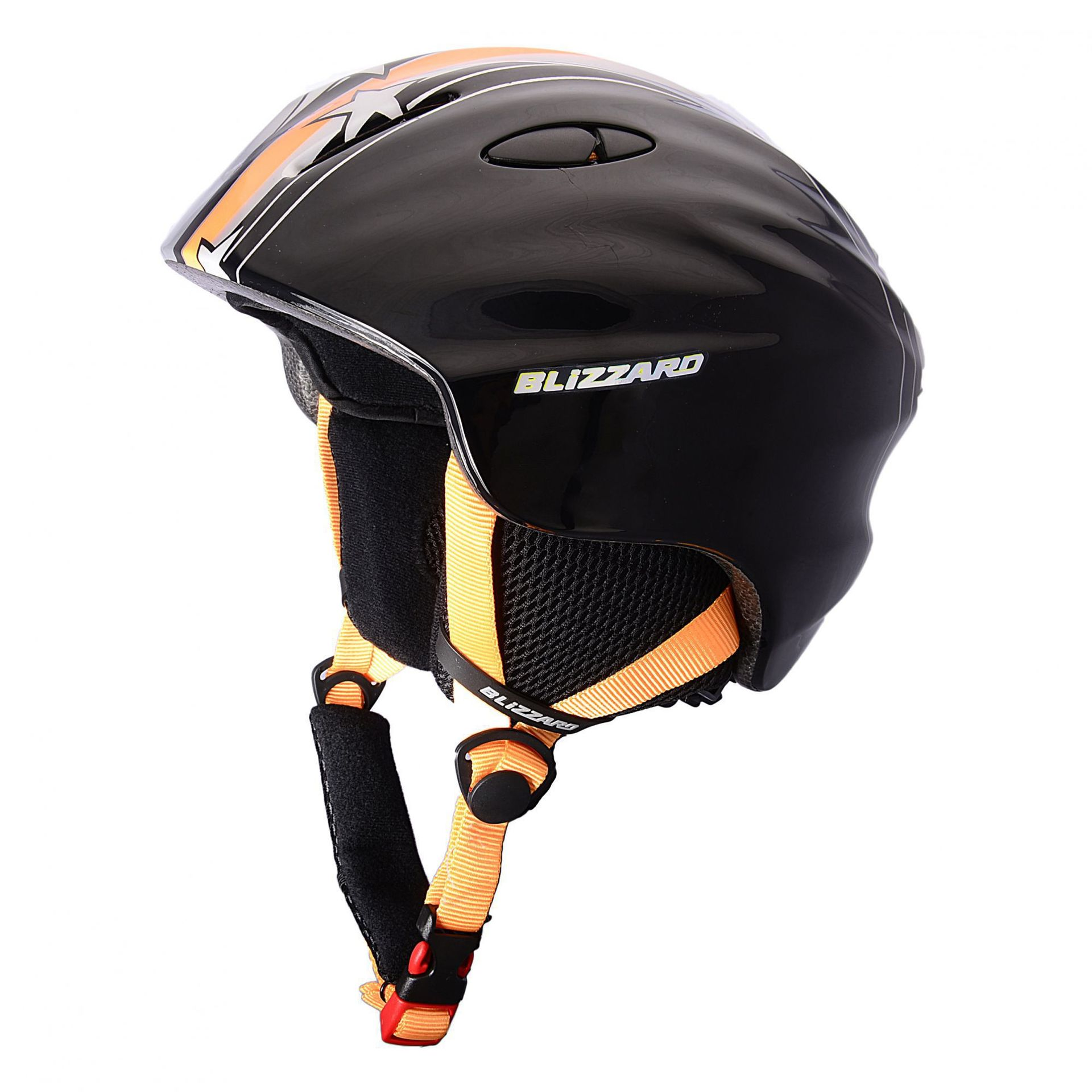KASK BLIZZARD MAGNUM ORANGE STAR SHINY