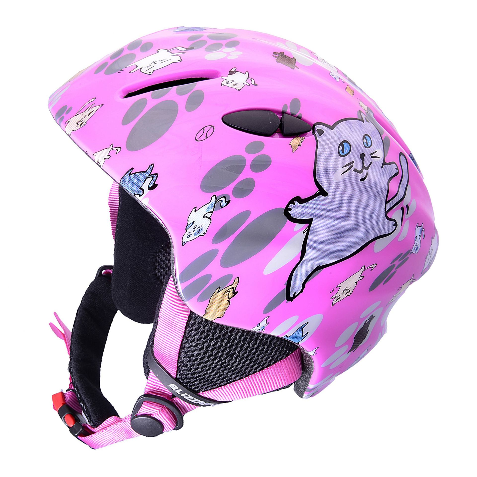 KASK BLIZZARD MAGNUM PINK CAT SHINY
