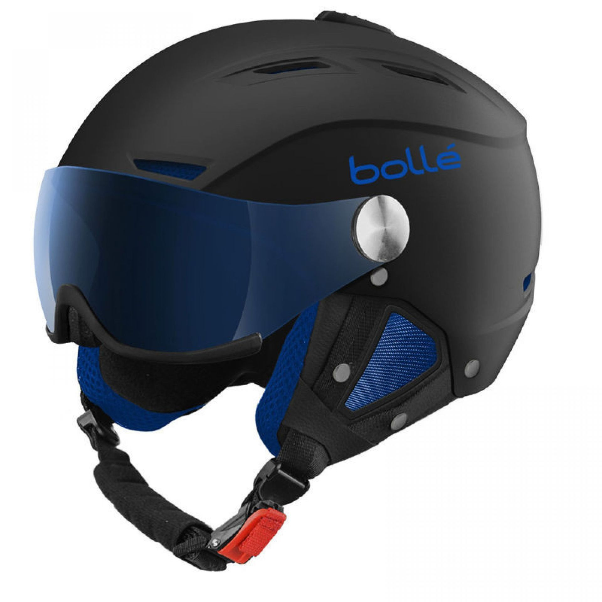 KASK BOLLE BACKLINE VISOR SOFT BLACK BLUE