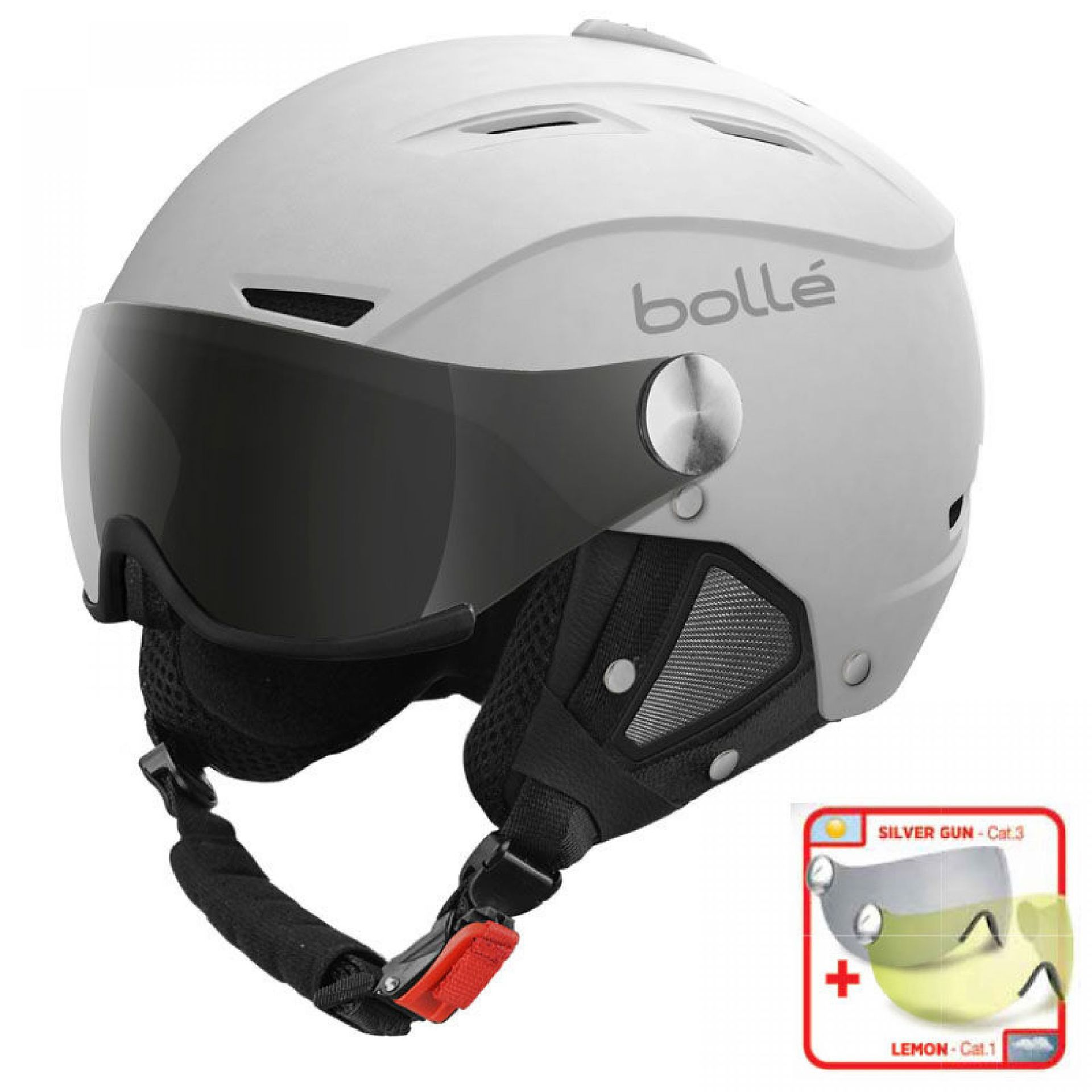 KASK BOLLE BACKLINE VISOR SOFT WHITE