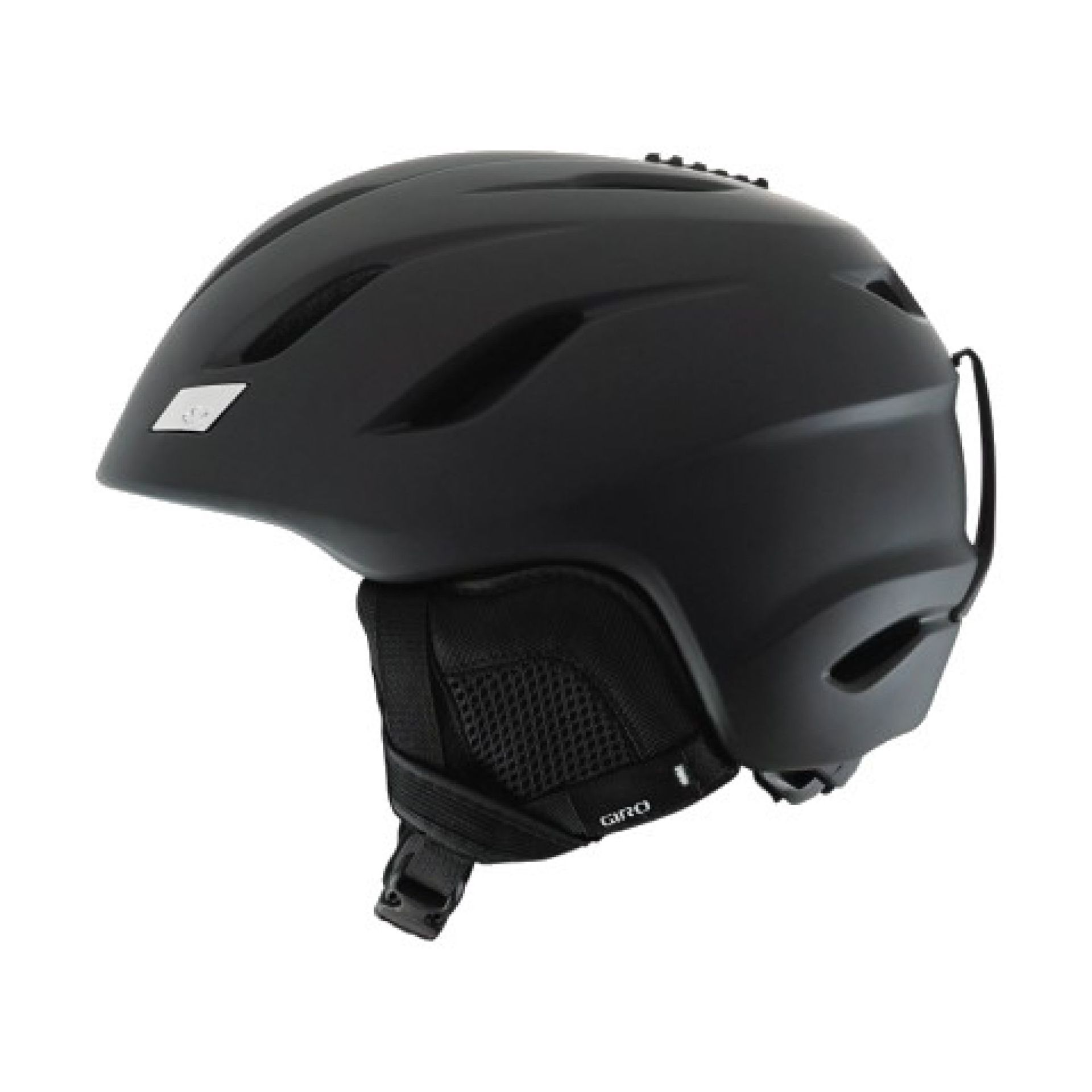 KASK GIRO NINE MATTE BLACK 2
