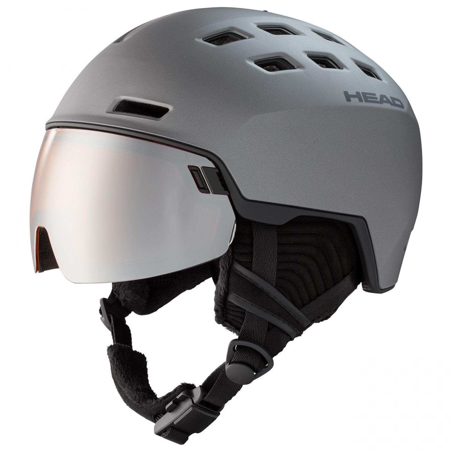 KASK HEAD RADAR 323430 GRAPHITE|BLACK