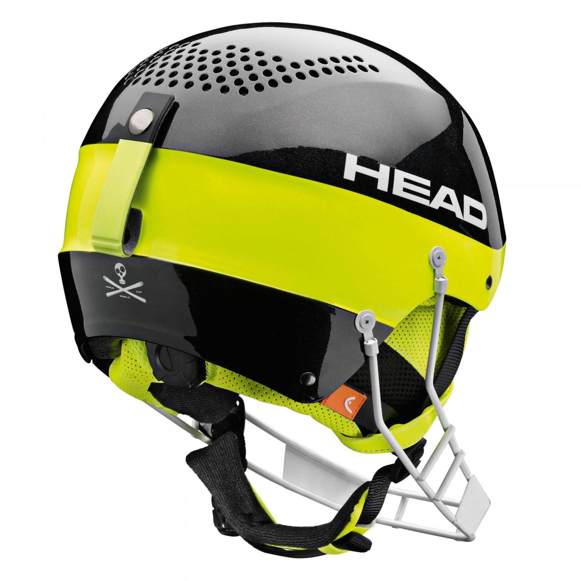 KASK HEAD STIVOT SL CHINGUARD BLACK 2