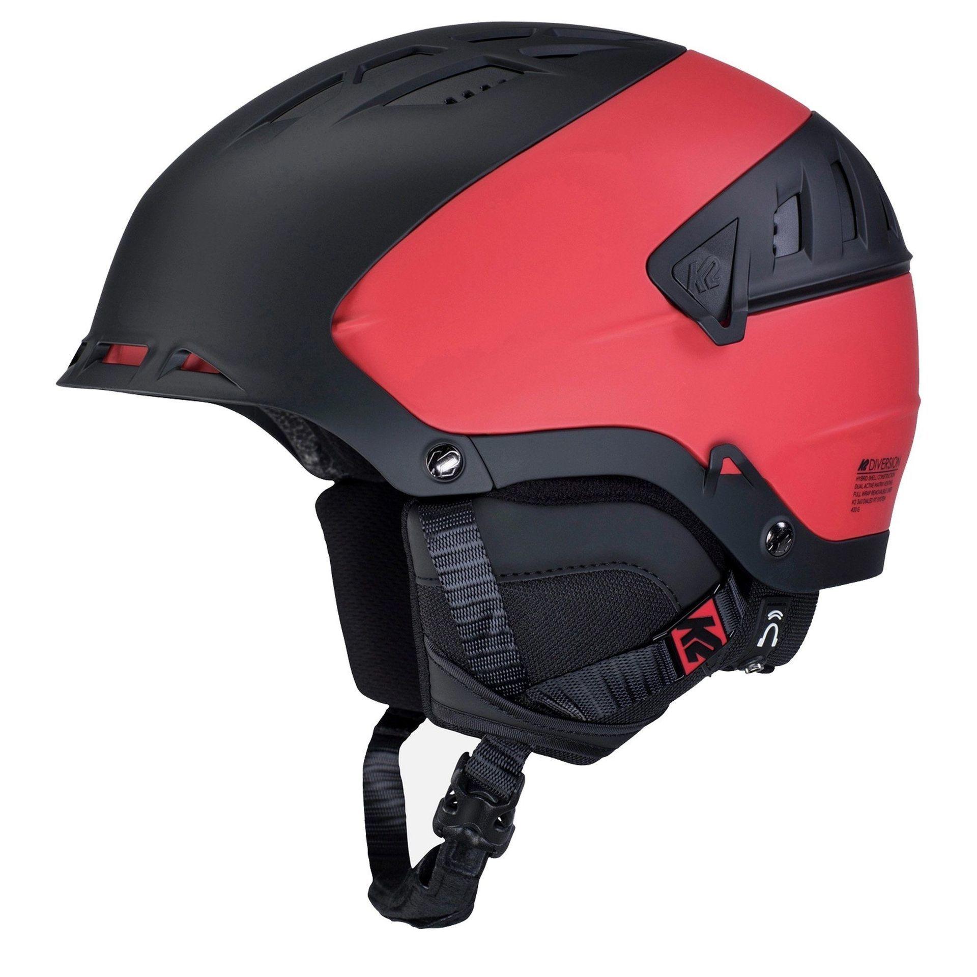 KASK K2 DIVERSION 10D4000-42 BLACK RED