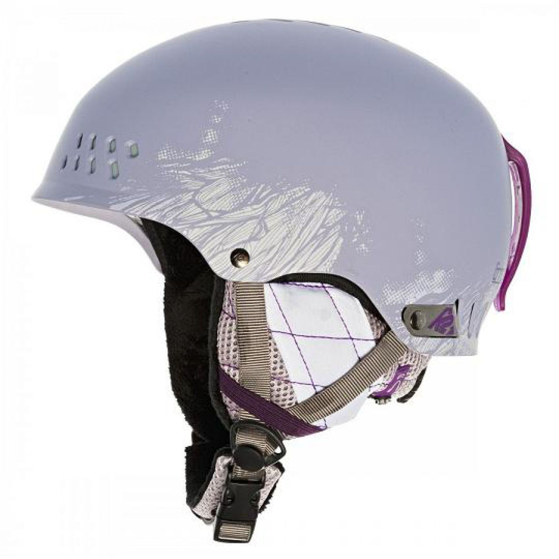 KASK K2 EMPHASIS FIOLETOWY