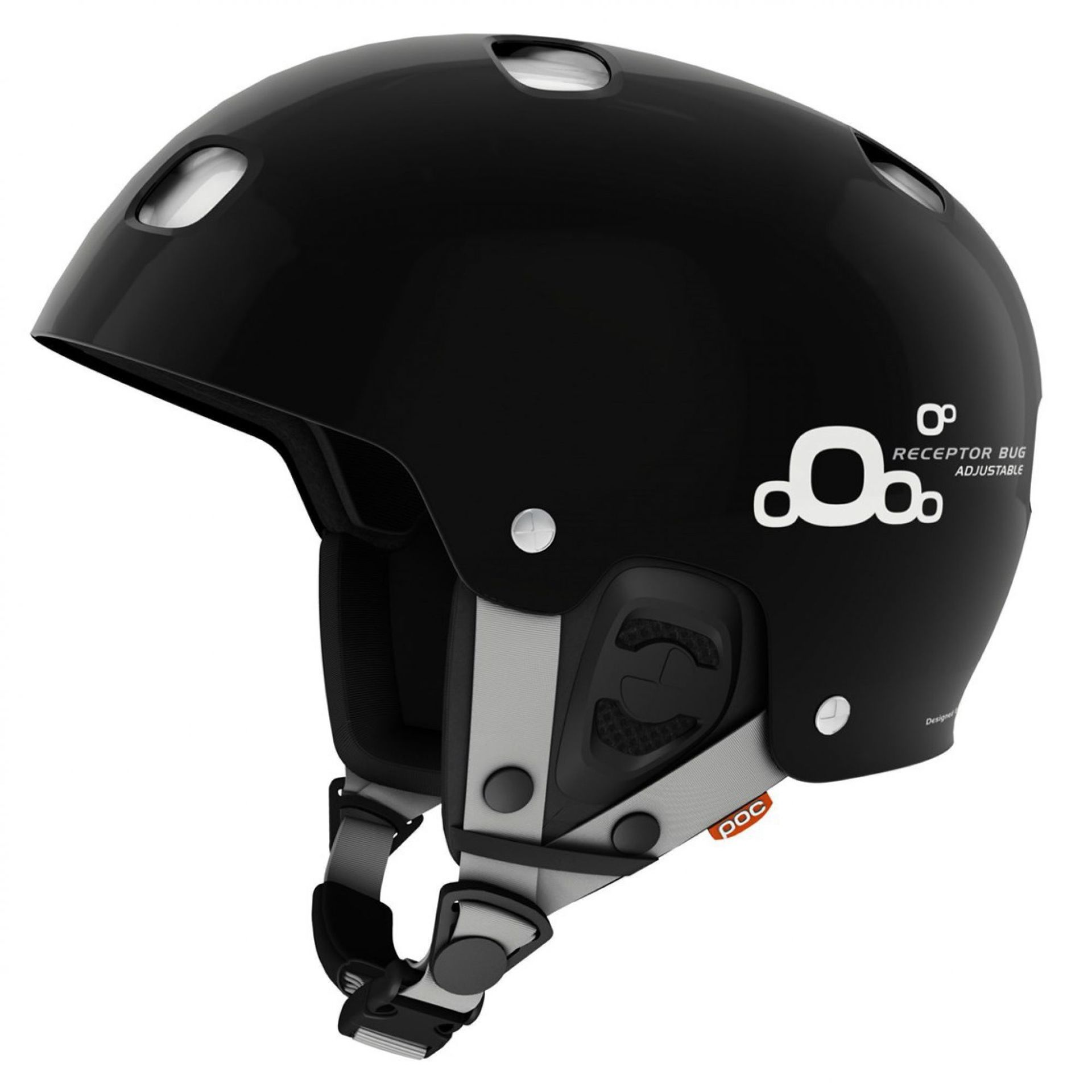 KASK POC RECEPTOR BUG ADJUSTABLE 2.0 BLACK