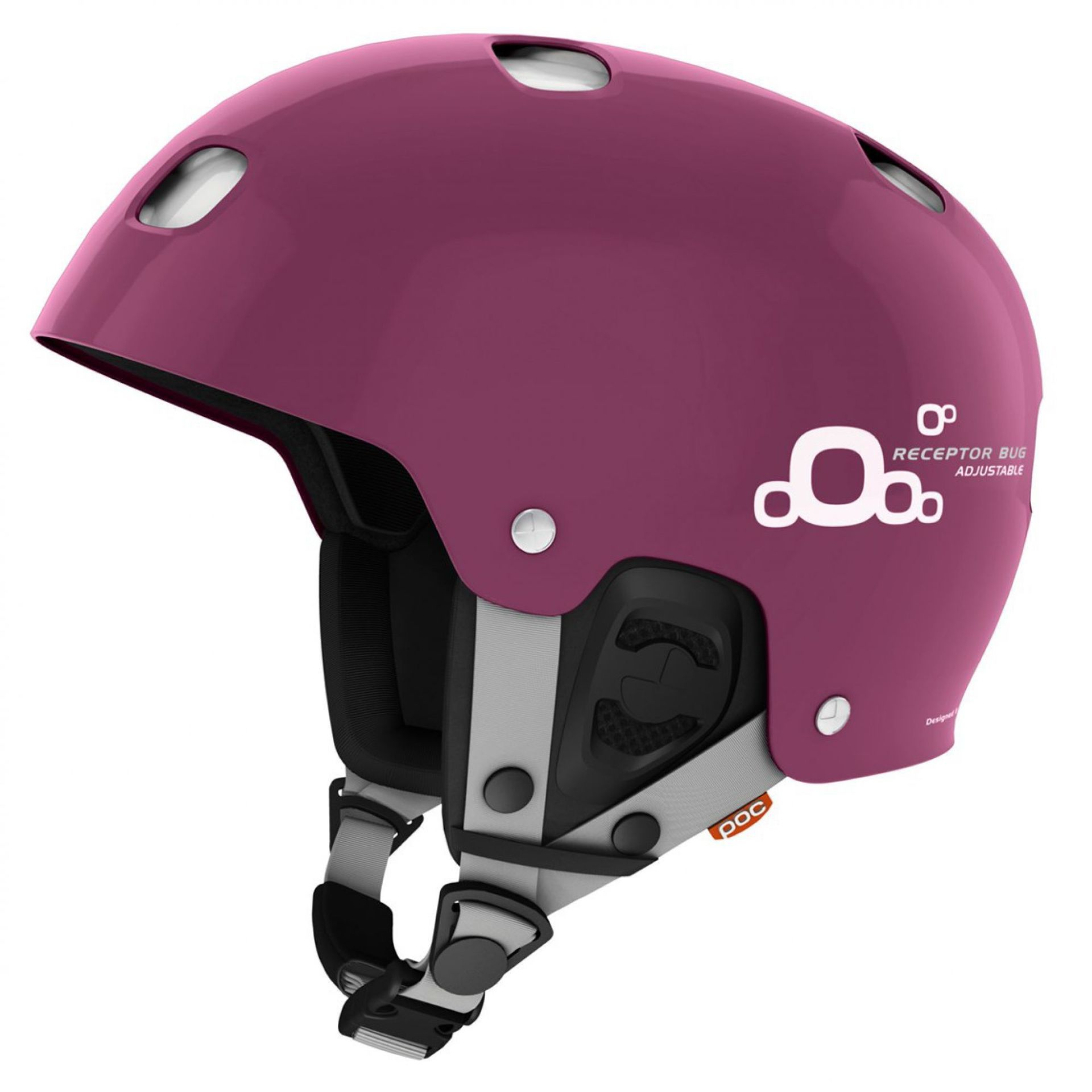 KASK POC RECEPTOR BUG ADJUSTABLE 2.0 GRANATE RED