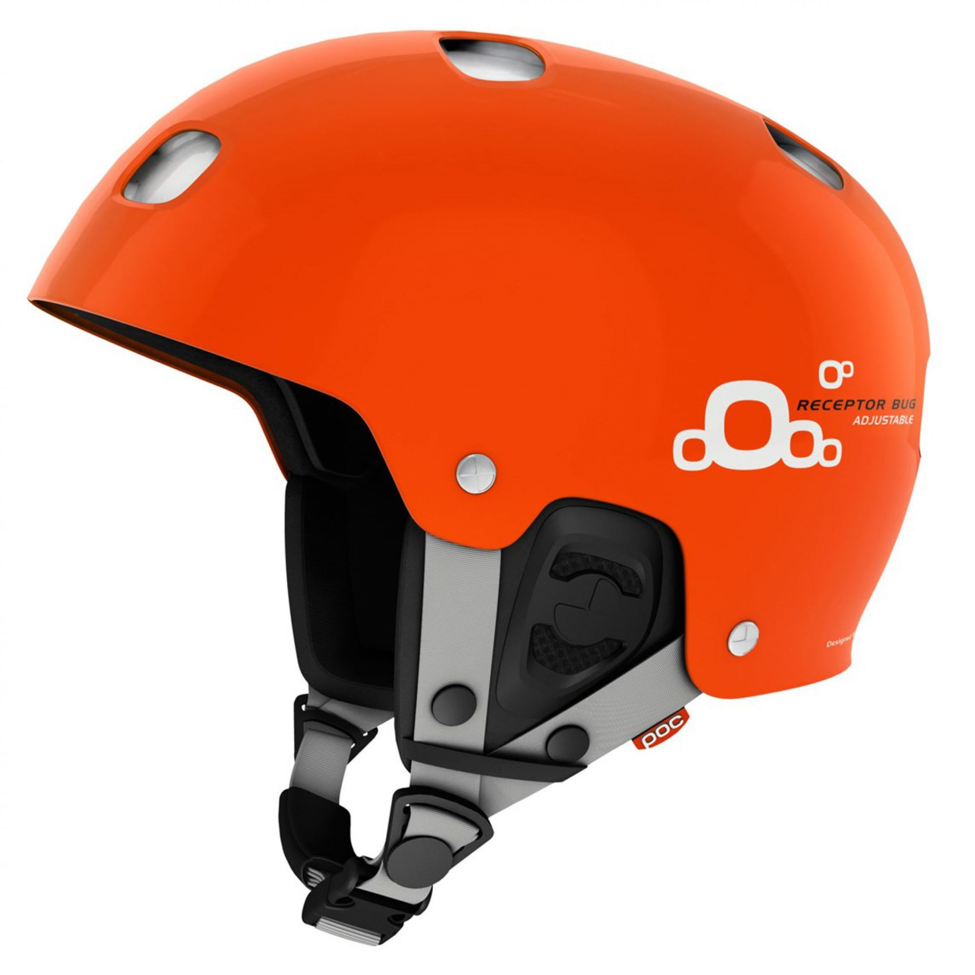 KASK POC RECEPTOR BUG ADJUSTABLE 2.0 IRON ORANGE