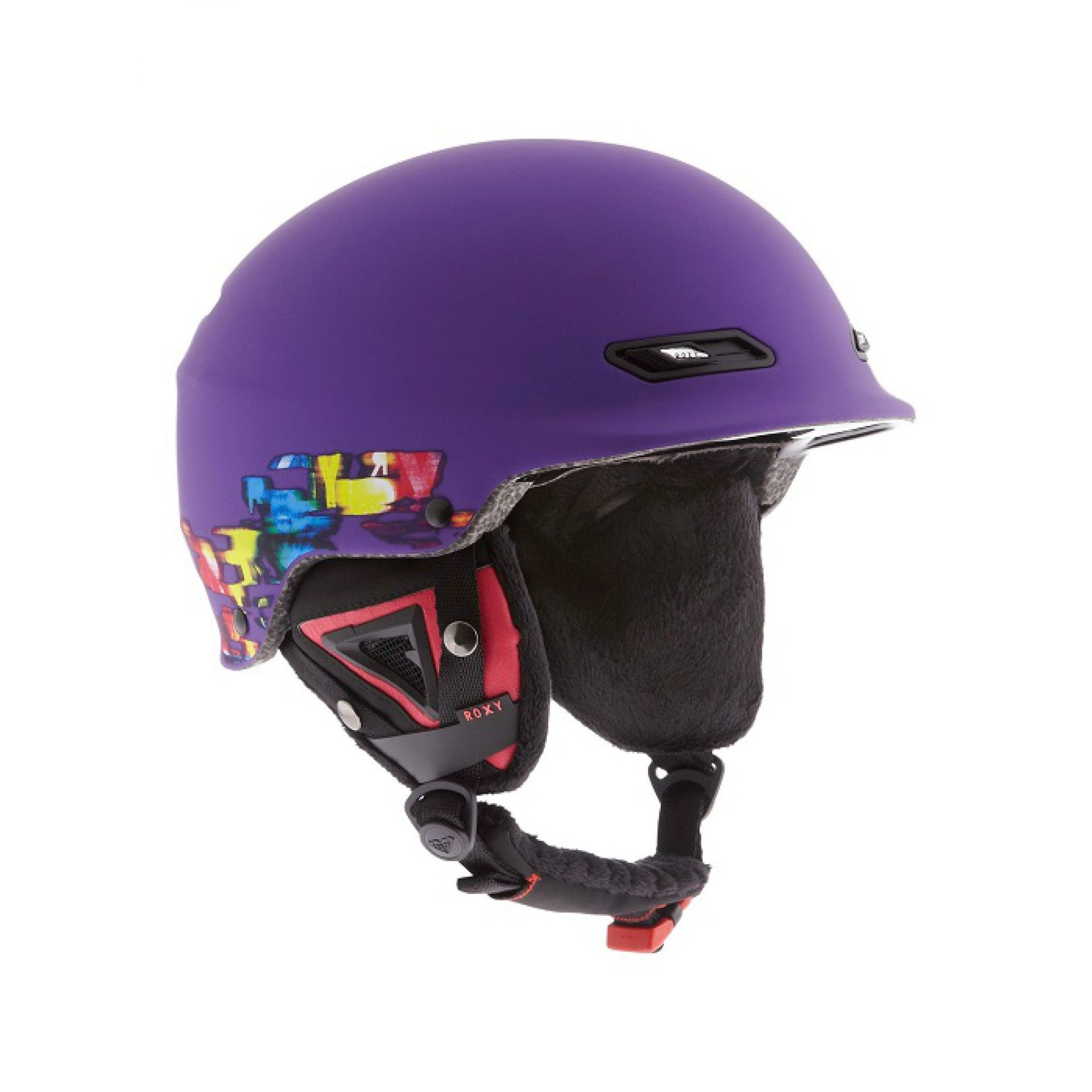 KASK ROXY POWER POWDER FIOLETOWY