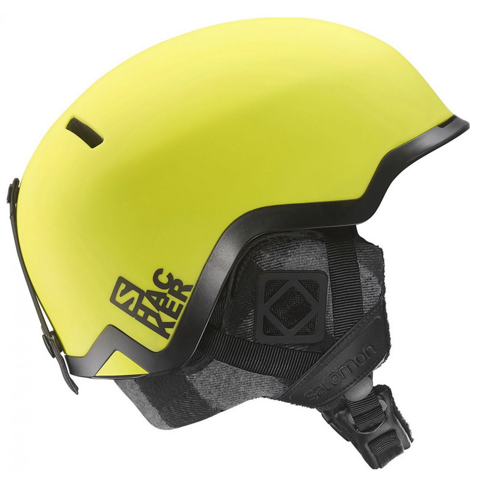 KASK SALOMON HACKER YELLOW MAT