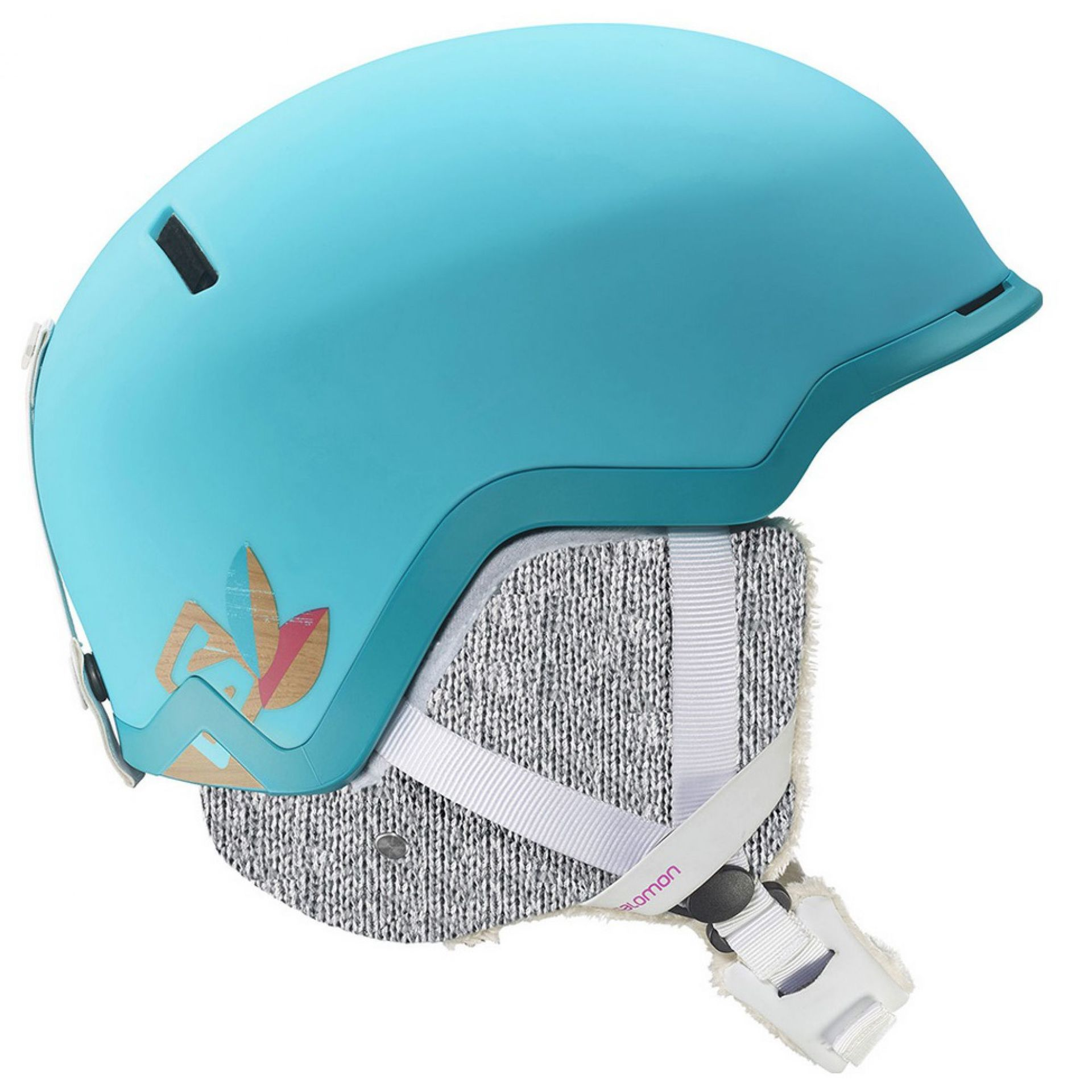 KASK SALOMON HIVA C.AIR  BLUE METHYL BLUE