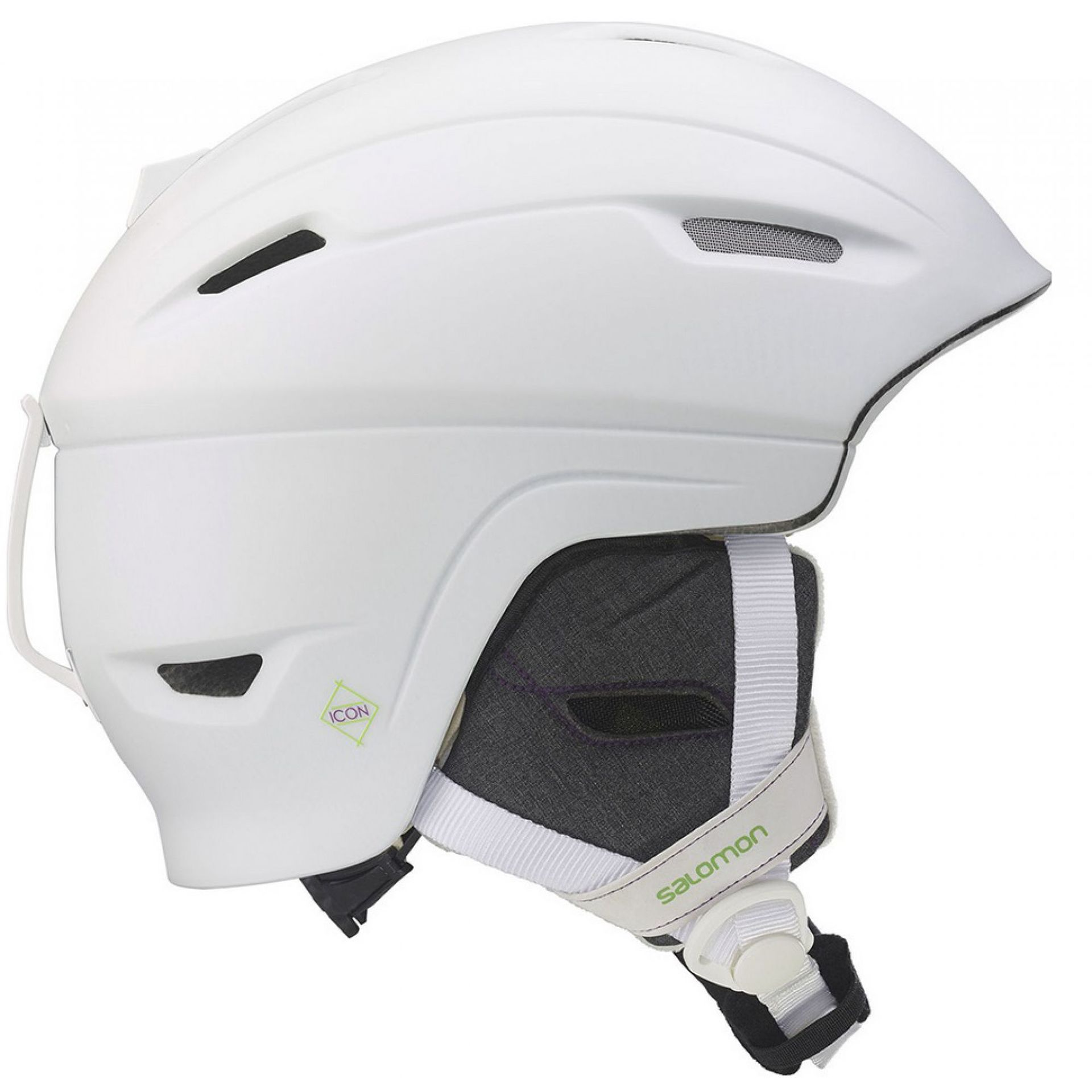 KASK SALOMON ICON 4D WHITE MATT