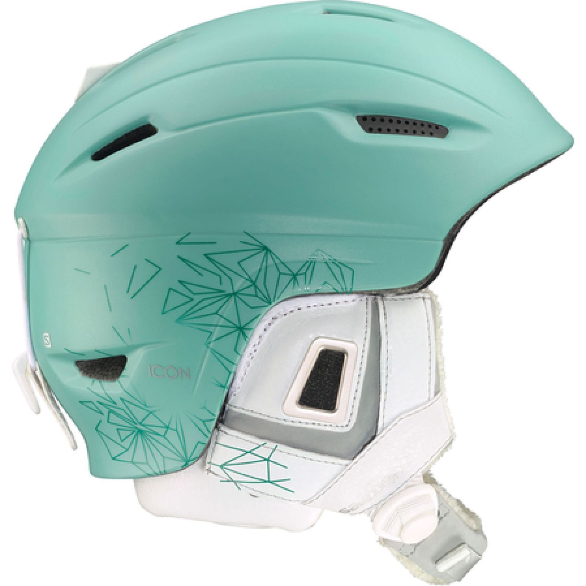 KASK SALOMON   ICON CUSTOM AIR ZIELONY