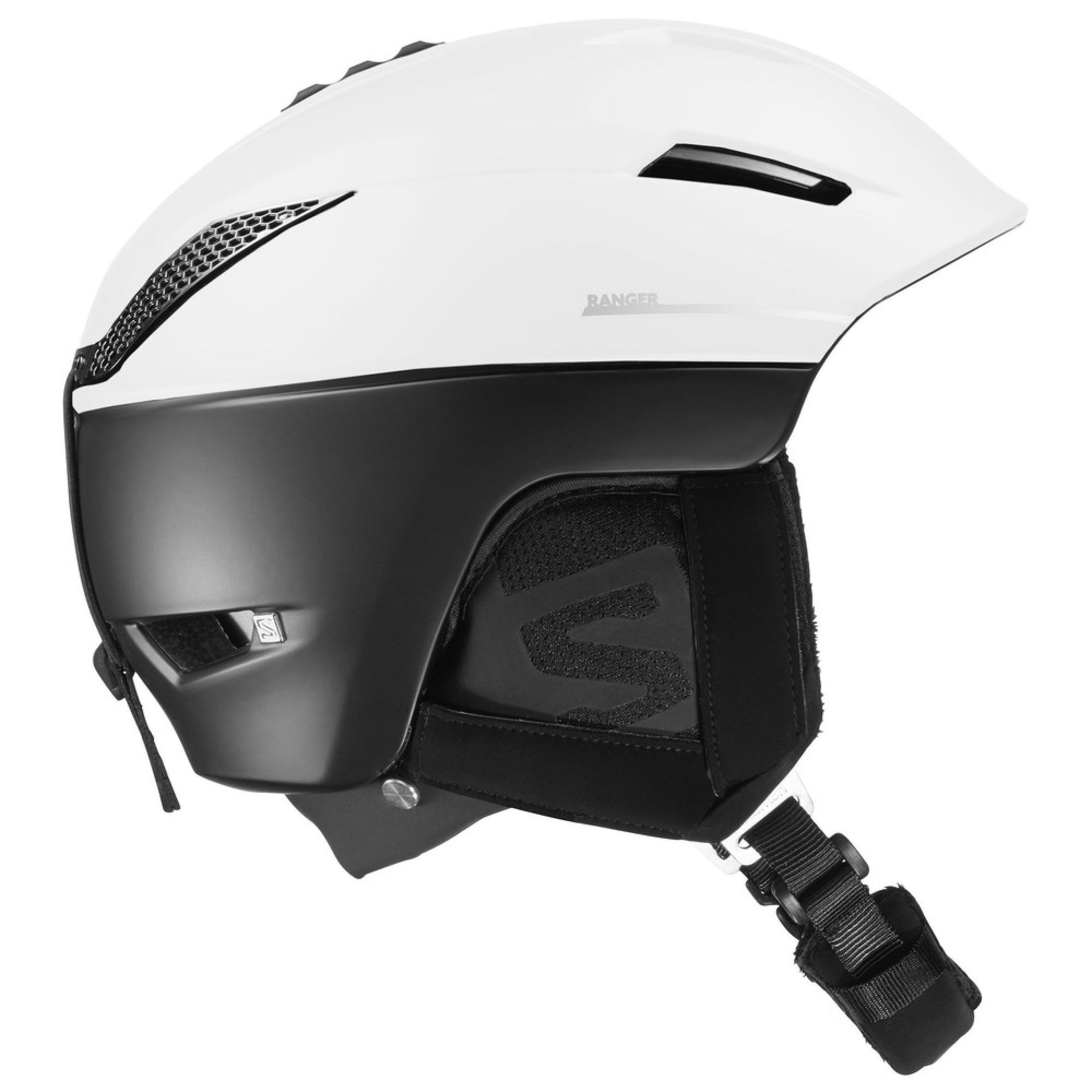 KASK SALOMON RANGER2 C.AIR BLACK WHITE