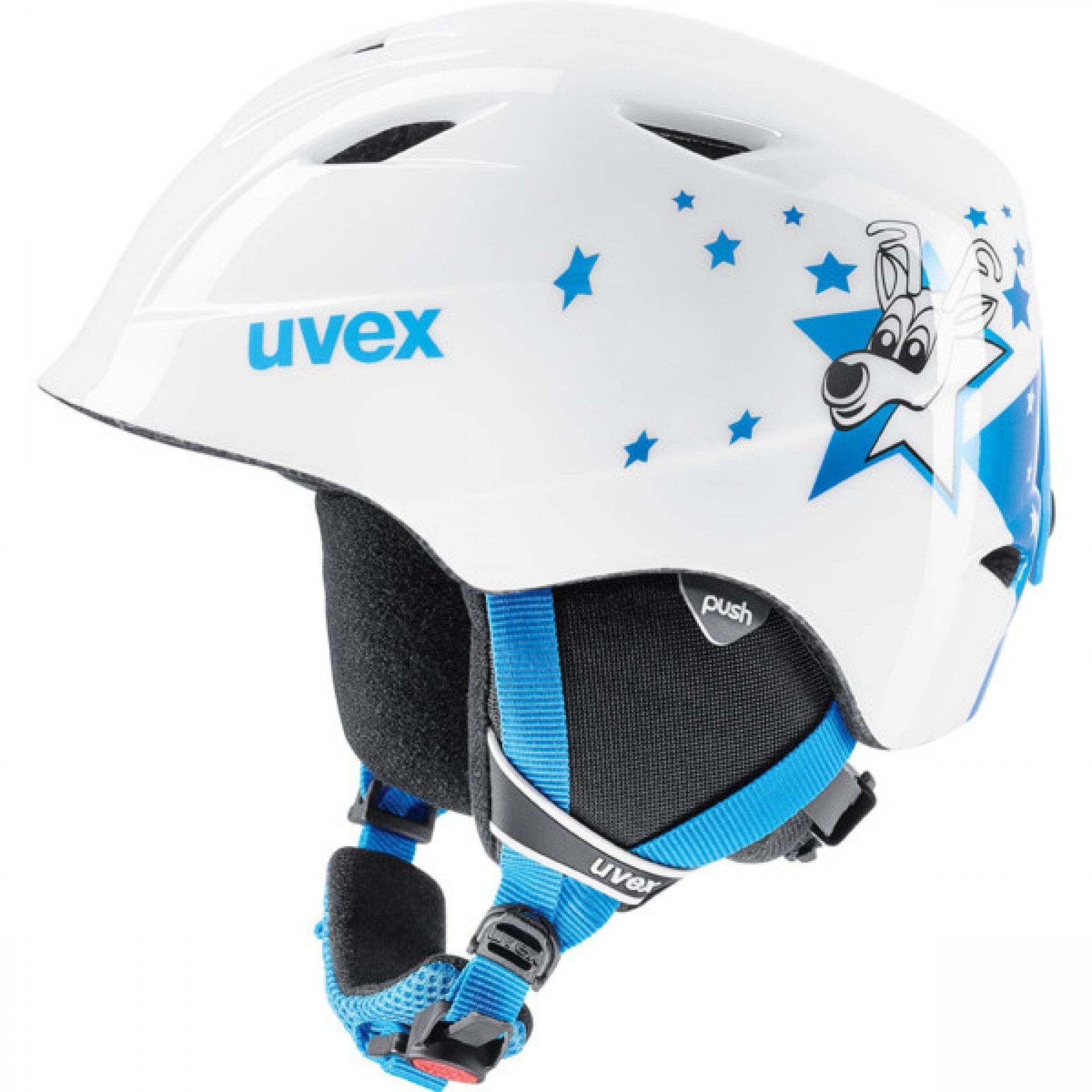 KASK UVEX AIRWING 2 BLUE STAR