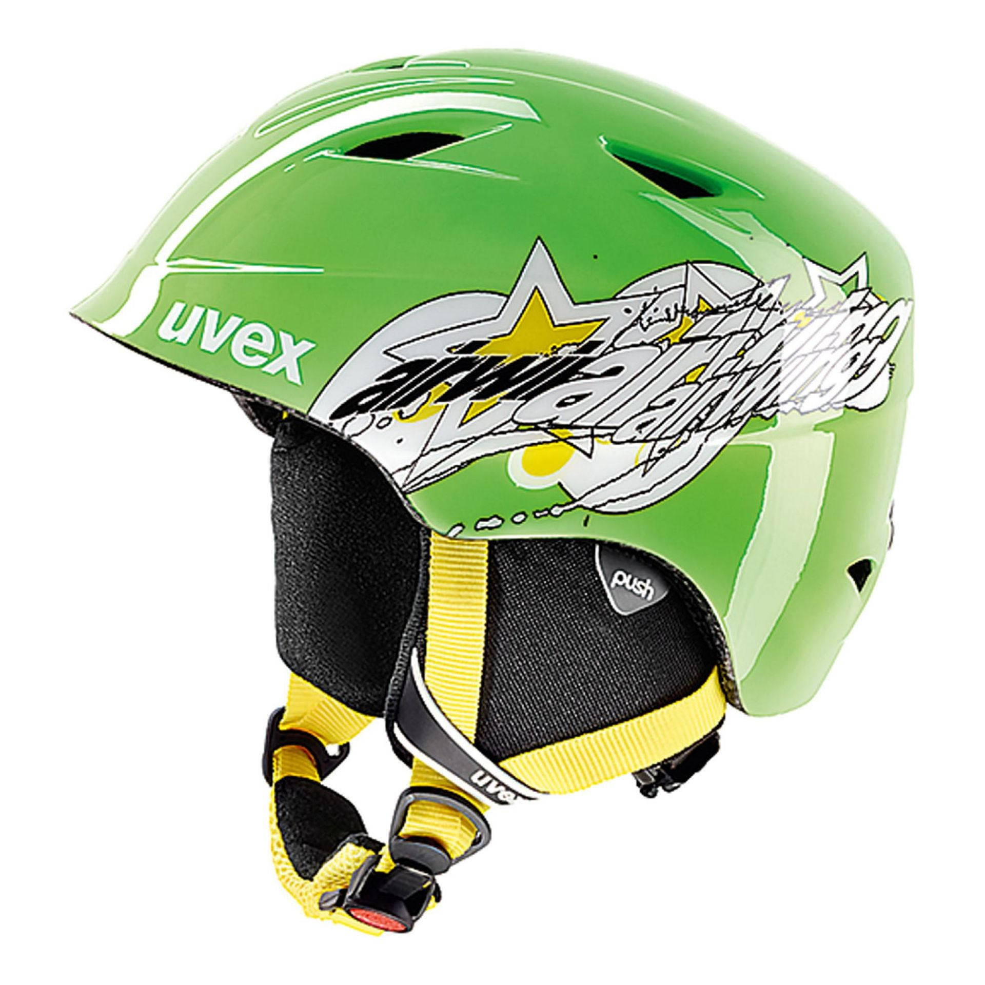 KASK UVEX AIRWING 2 GREEN STAR