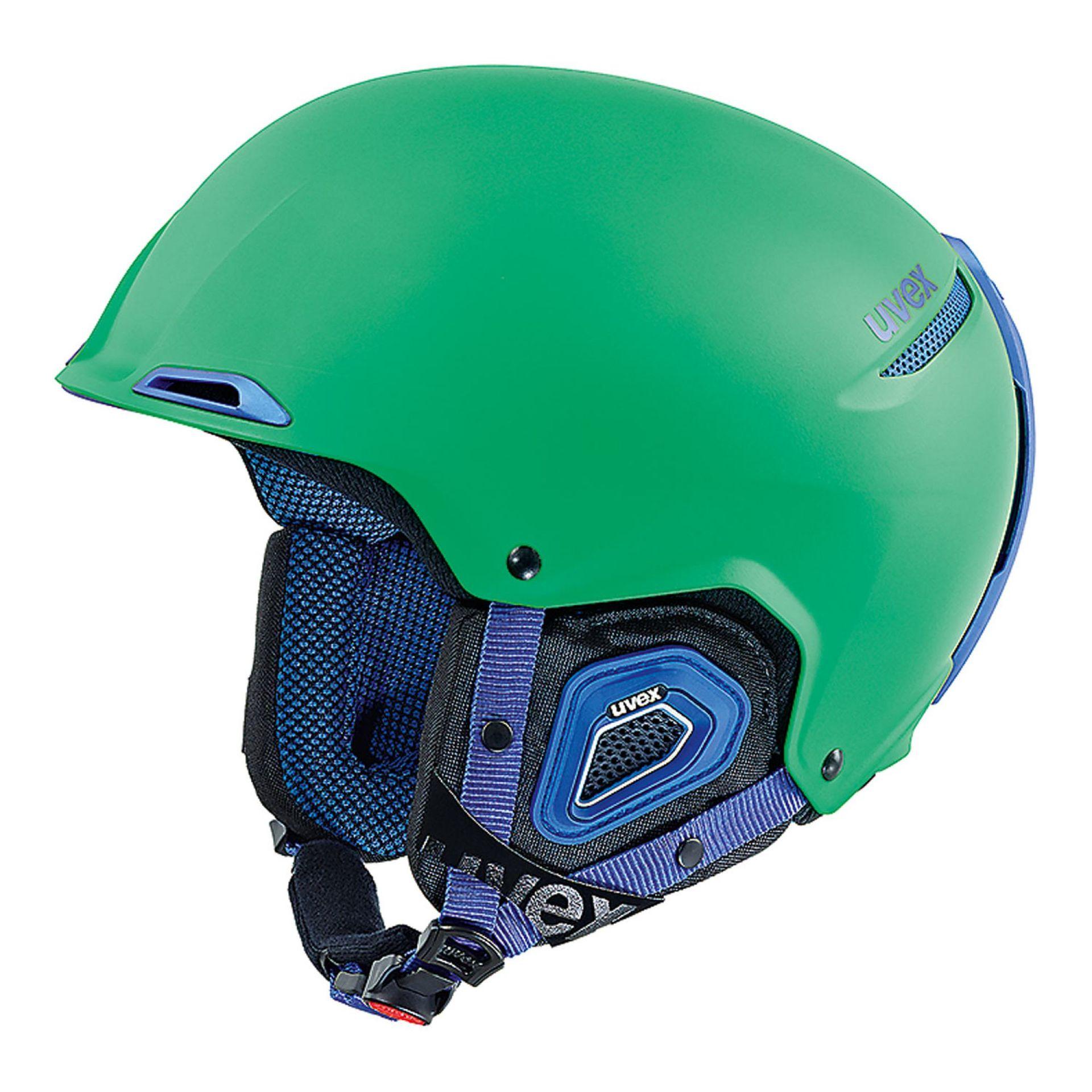 KASK UVEX JAKK+ GREEN BLUE MAT