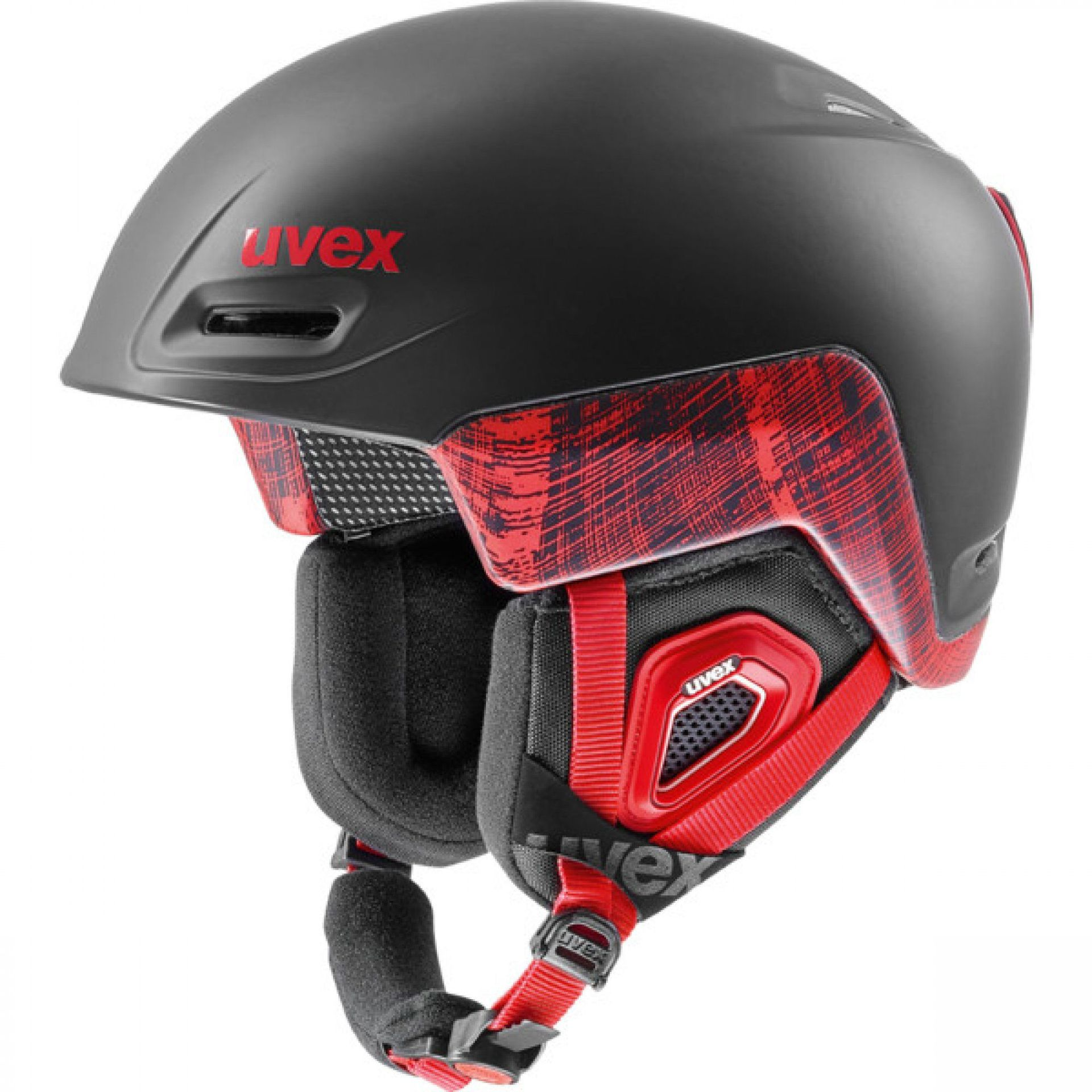KASK UVEX JIMM OCTO+ BLACK RED MAT
