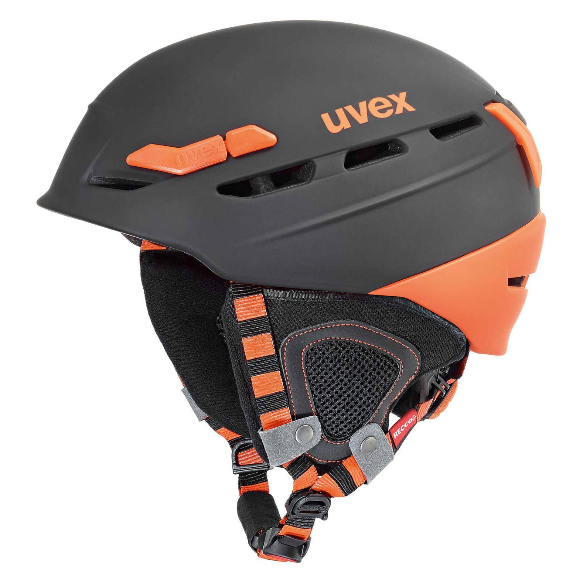 KASK UVEX  P. 8000 TOUR BLACK ORANGE MAT