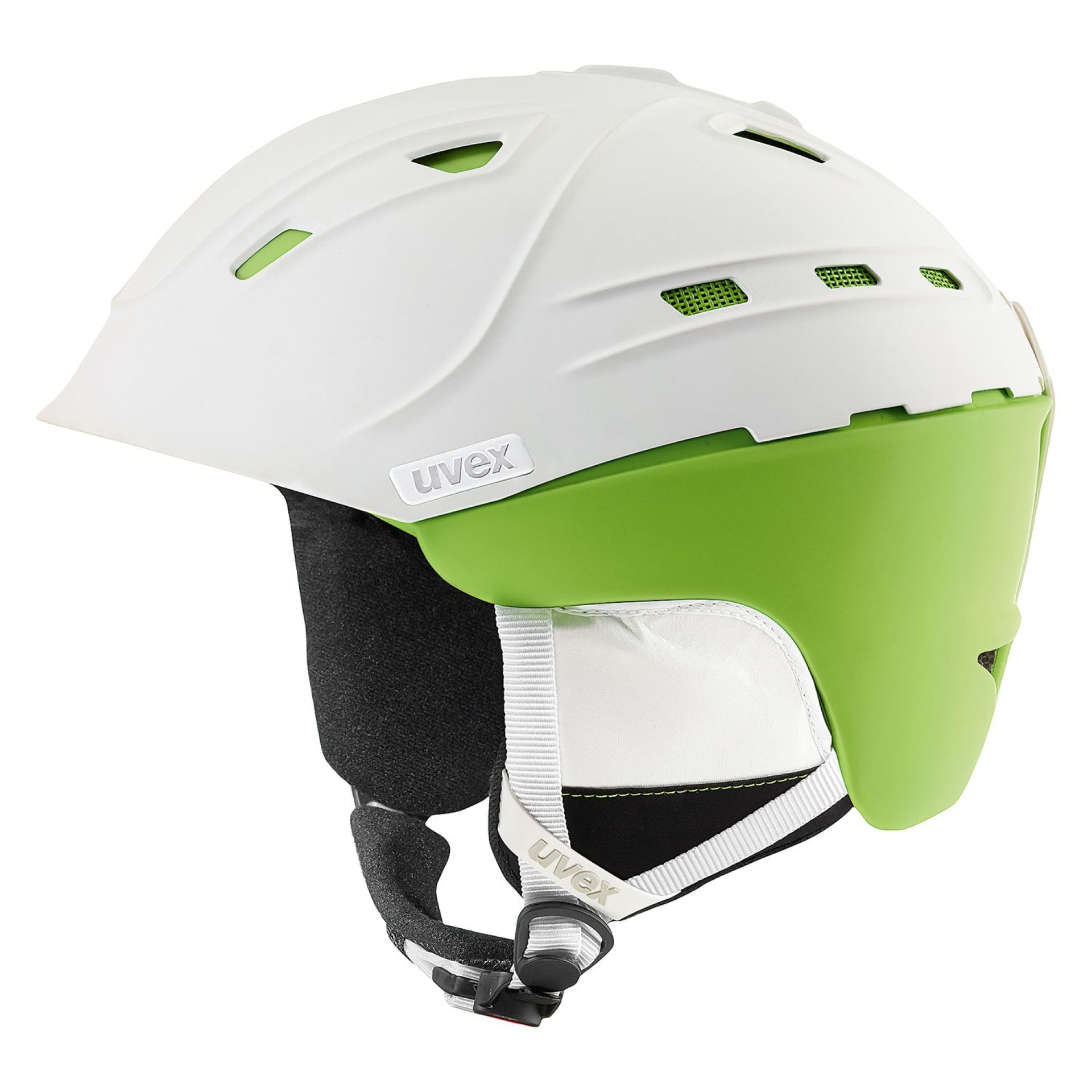 KASK UVEX P2US WHITE GREEN MAT