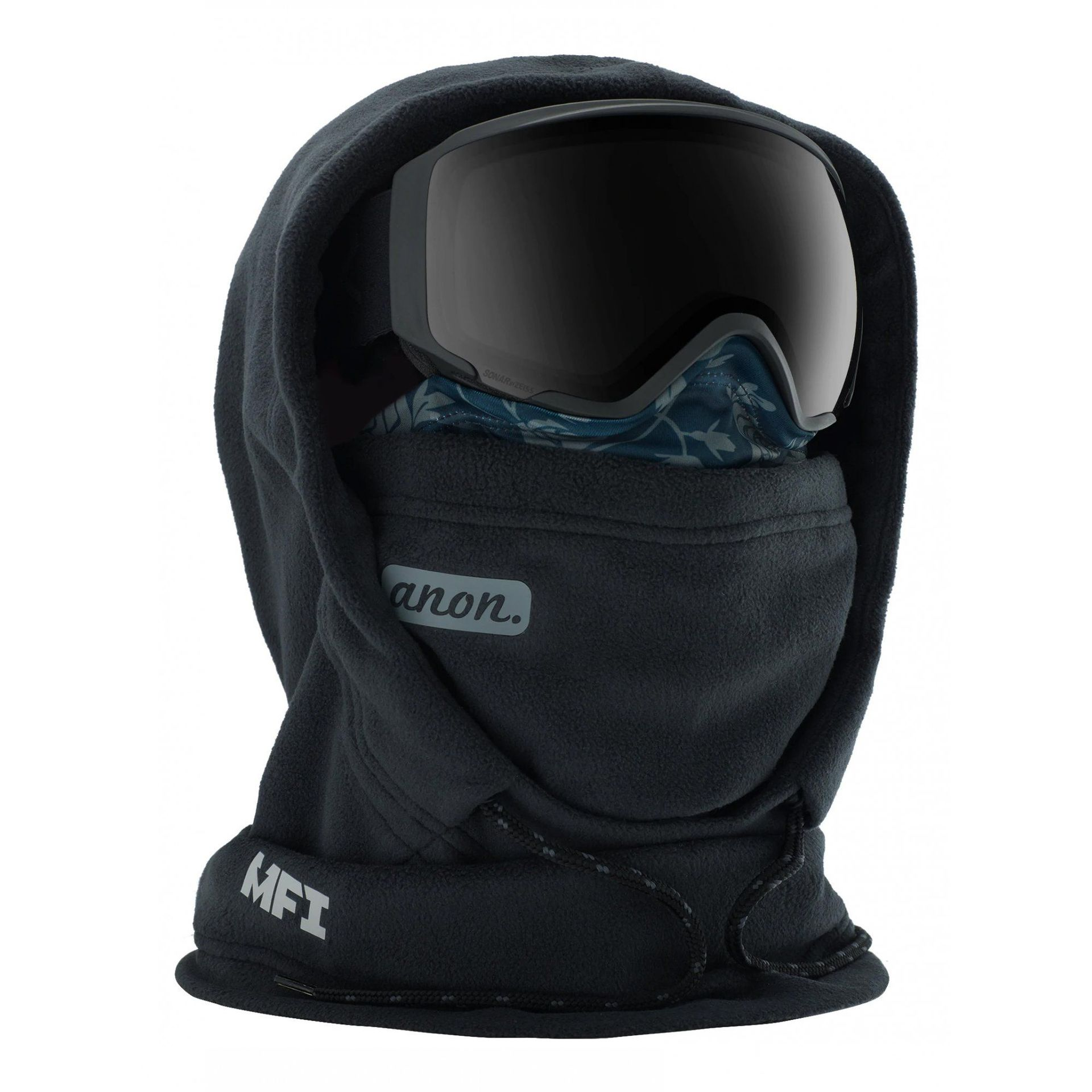 KOMIN ANON W MFI FLEECE HELMET HOOD 185231-001 BLACK