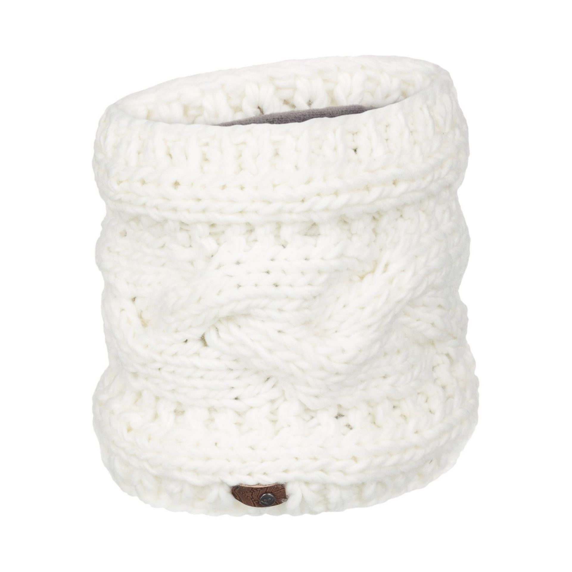 KOMIN ROXY WINTER COLLAR BRIGHT WHITE (wbb0)