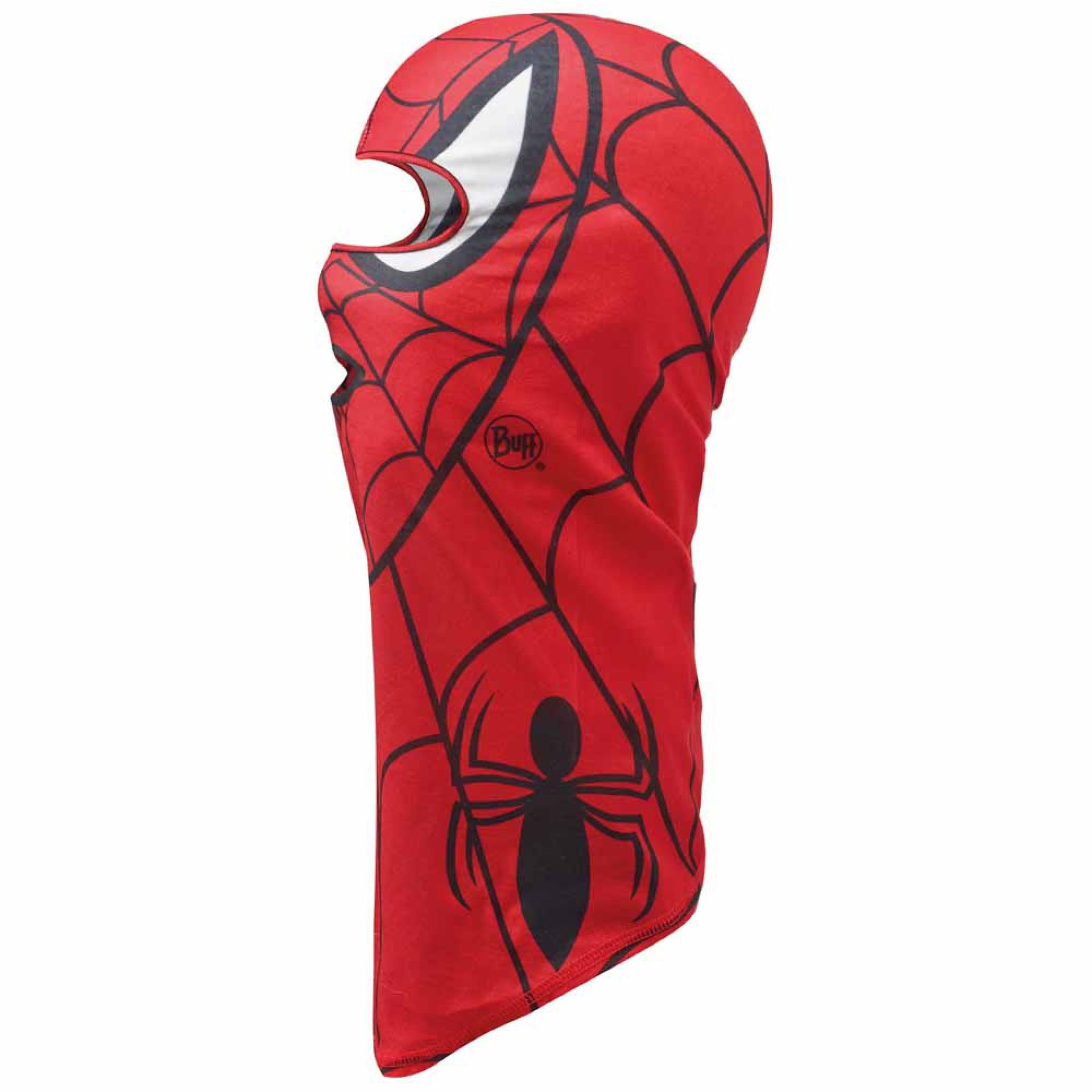 KOMINIARKA BUFF SUPERHEROES JUNIOR MICROFIBER BALACLAVA  SPIDERMASK