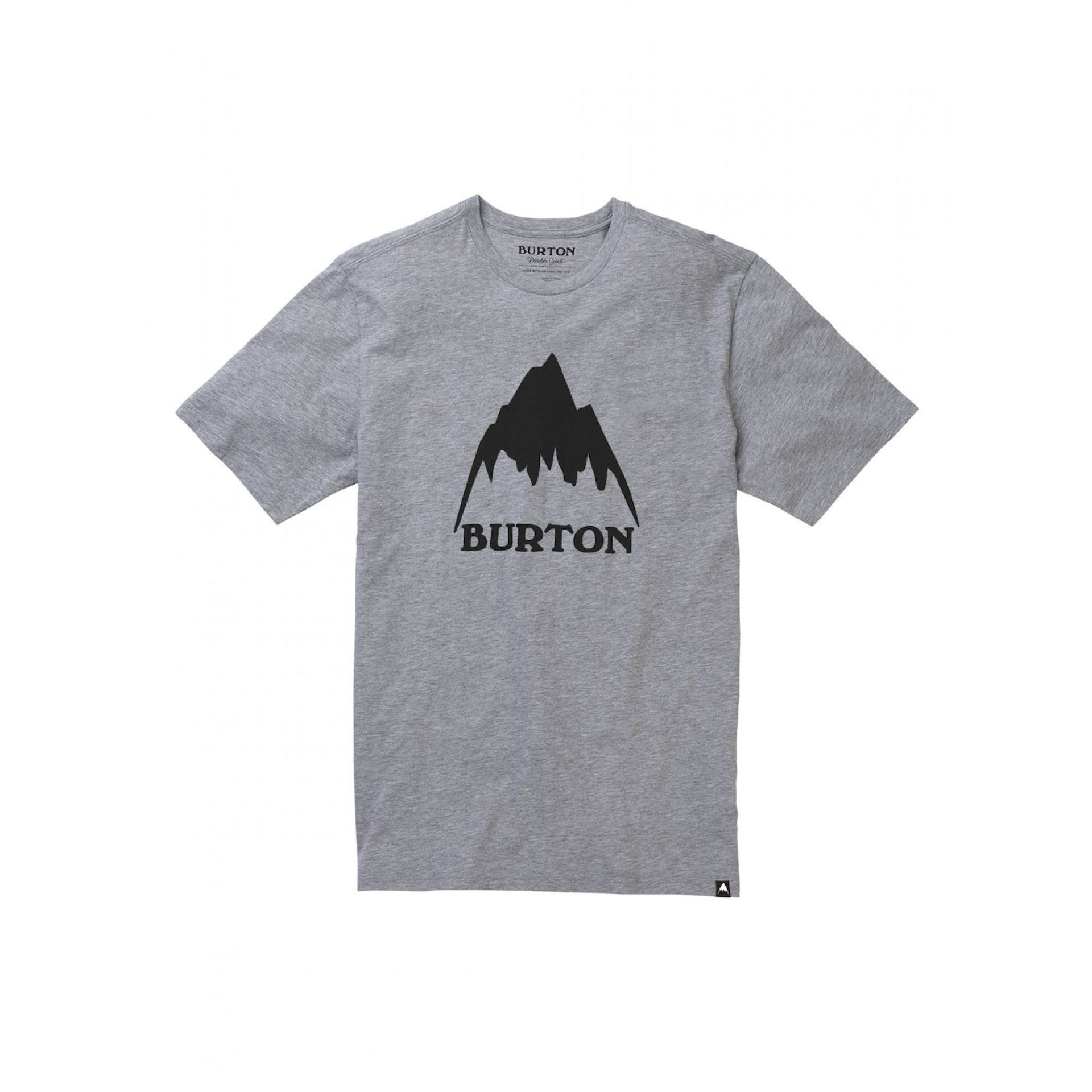 KOSZULKA BURTON CLASSIC MOUNTAIN HIGH GRAY HEATHER 203771-020