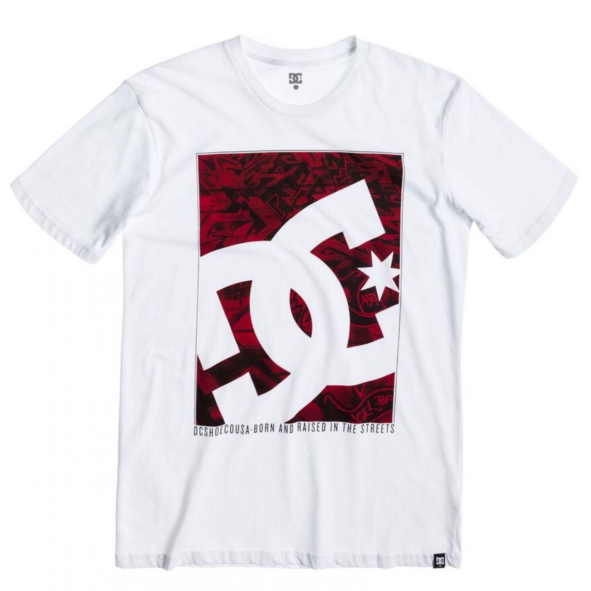 Koszulka DC Courber SS biały