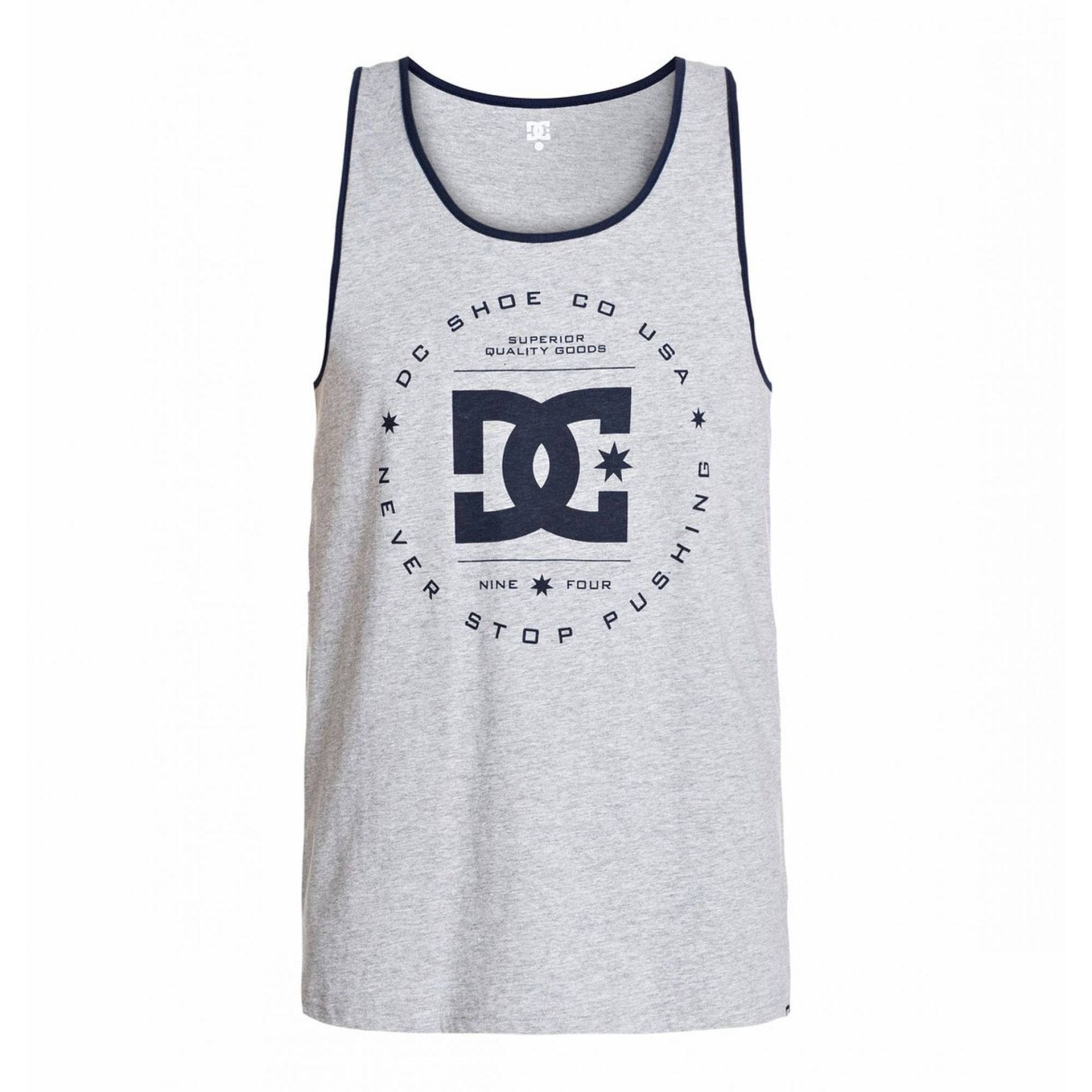 KOSZULKA DC REBUILT TANK HEATHER GREY