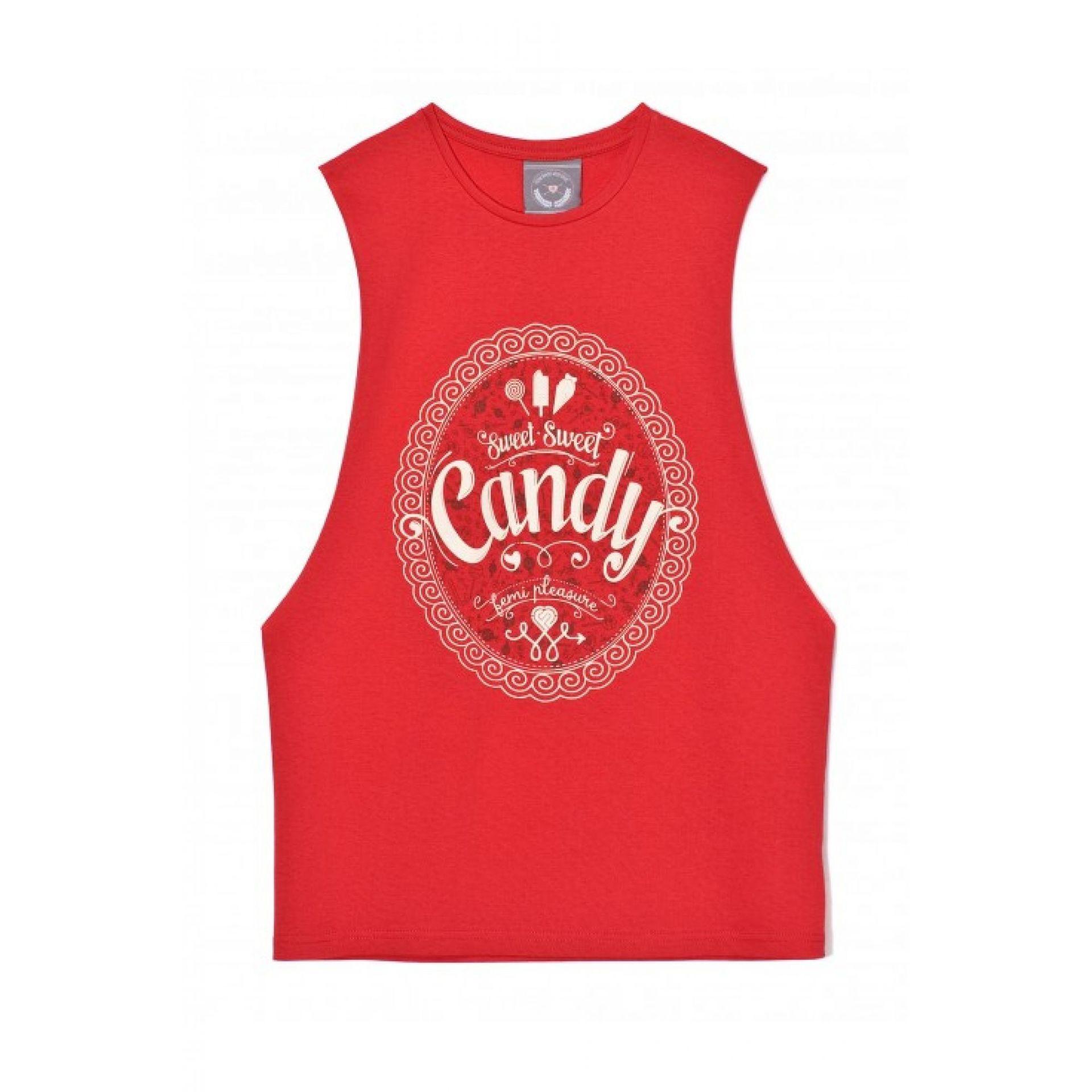 Koszulka Femi Pleasure czerwona