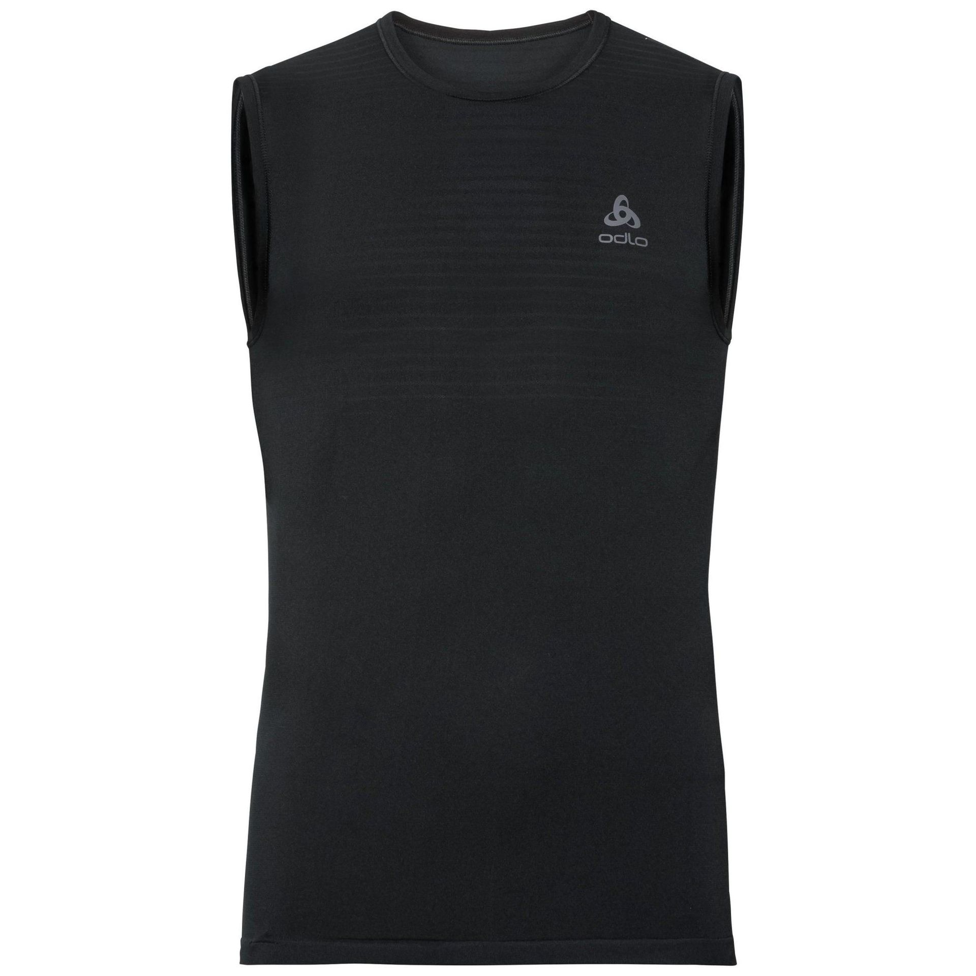 KOSZULKA ODLO PERFORMANCE X-LIGHT SINGLET BLACK 188202-15000 1