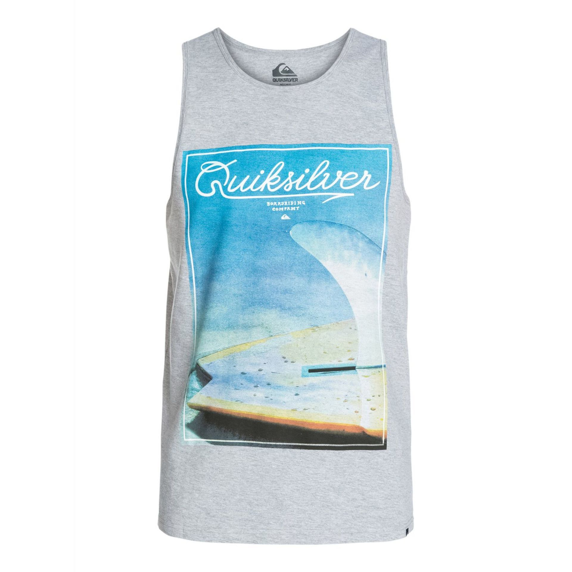 KOSZULKA QUIKSILVER CLASSIC TANK FINBOX ATHLETIC HEATHER
