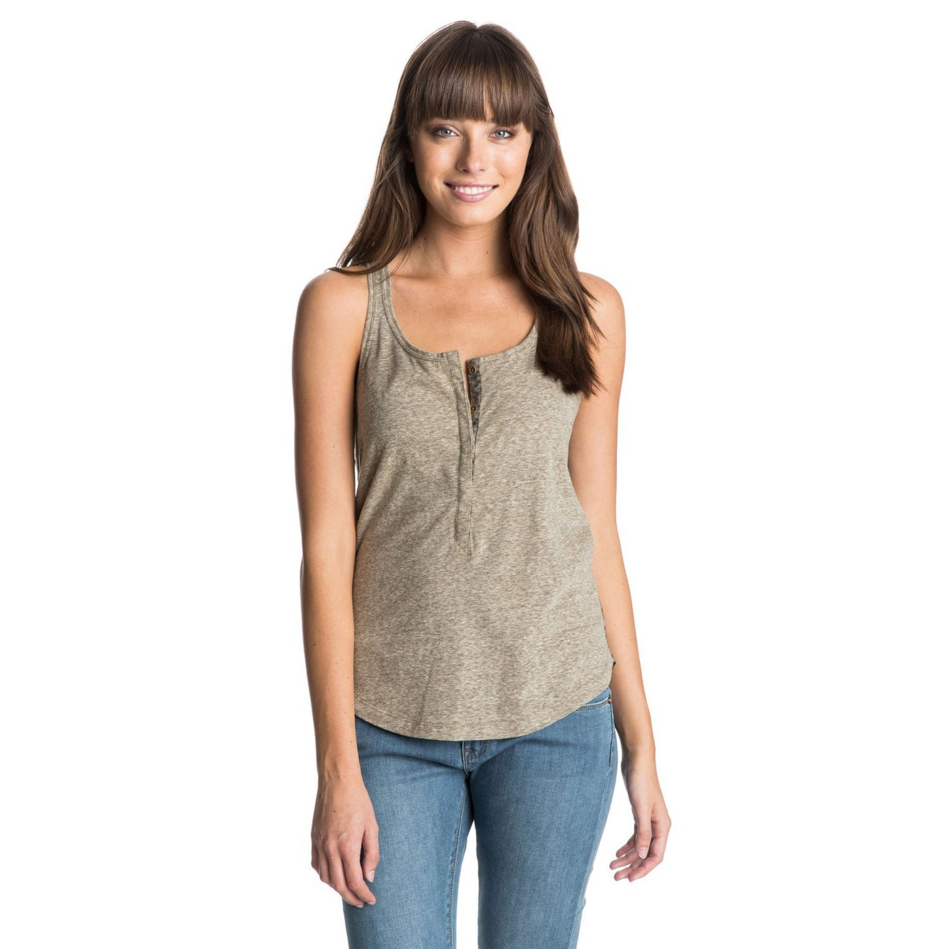 KOSZULKA TOP ROXY STONE STEPS MILITARY OLIVE