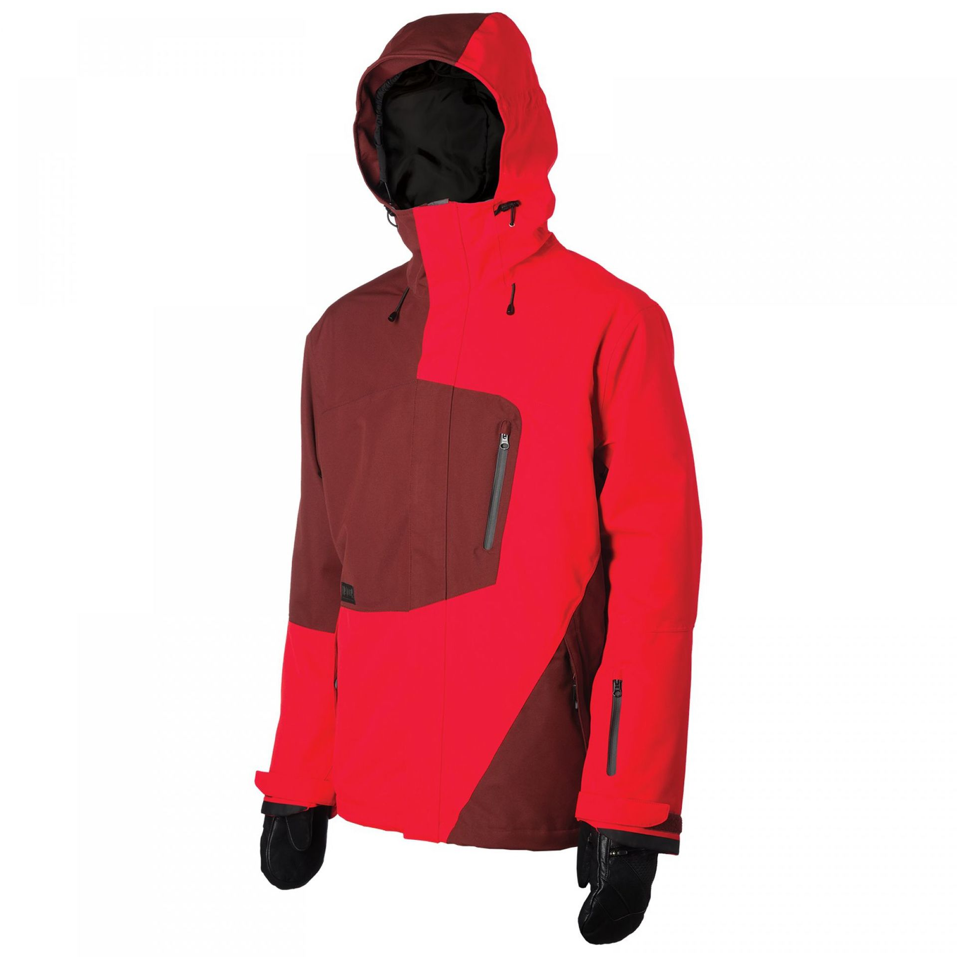 KURTKA LIB TECH RECYCLER JACKET ANDORRA RED