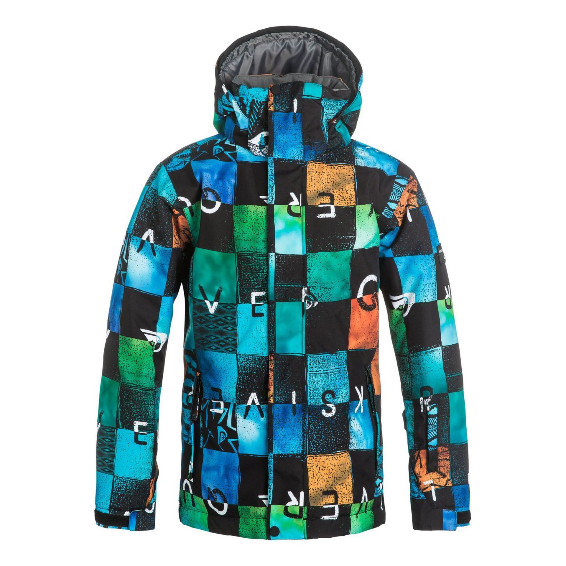 KURTKA QUIKSILVER MISSION PRINTED YOUTH