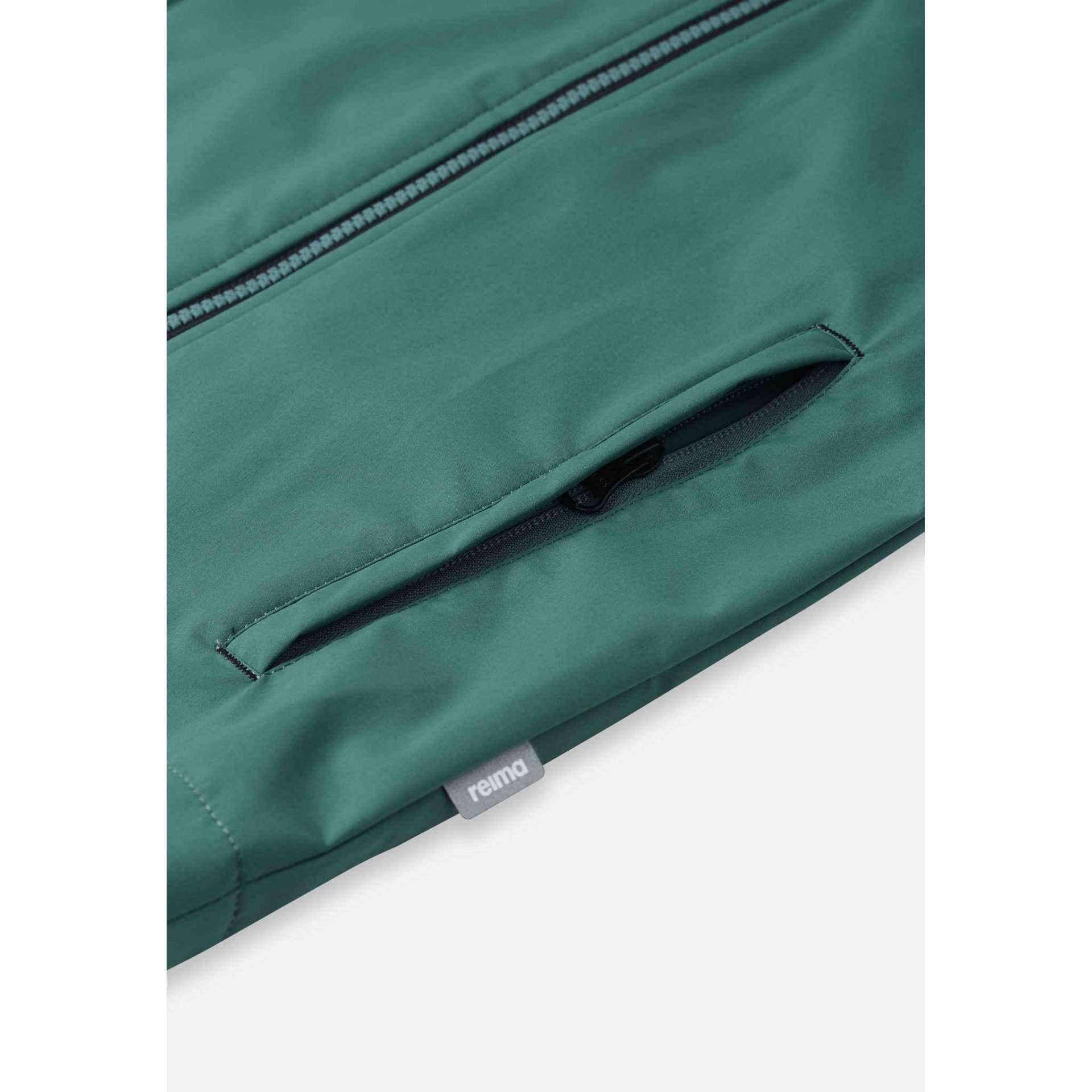 KURTKA REIMA KUOPIO 531509-8980 PINE GREEN KIESZEŃ
